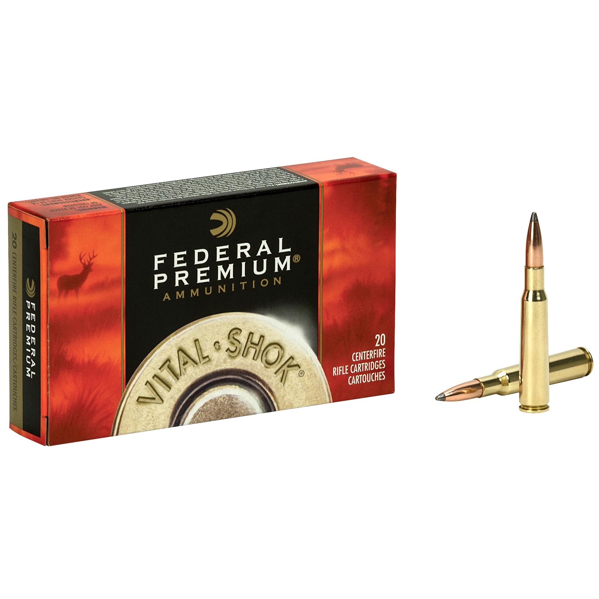Federal Premium Vital-Shok Nosler Partition Rifle Ammo, .270 Win, 130-gr.