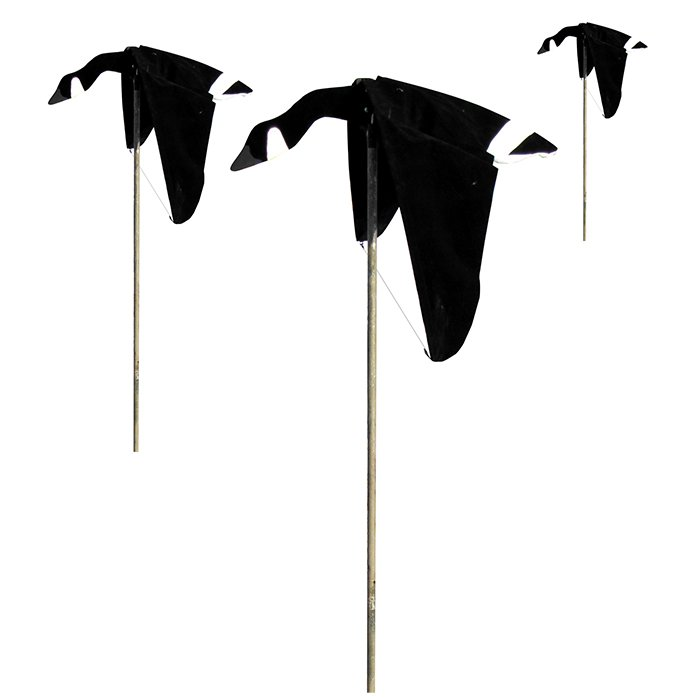 Heavy Hauler Cupped and Committed Canada Goose Flyer Decoy, 3-Pack