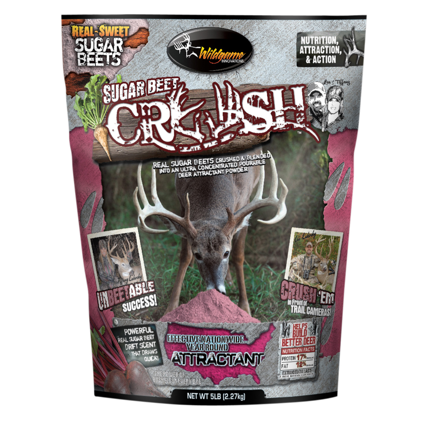 Wildgame Innovations Sugar Beet Crush Deer Attractant, 5 lbs.