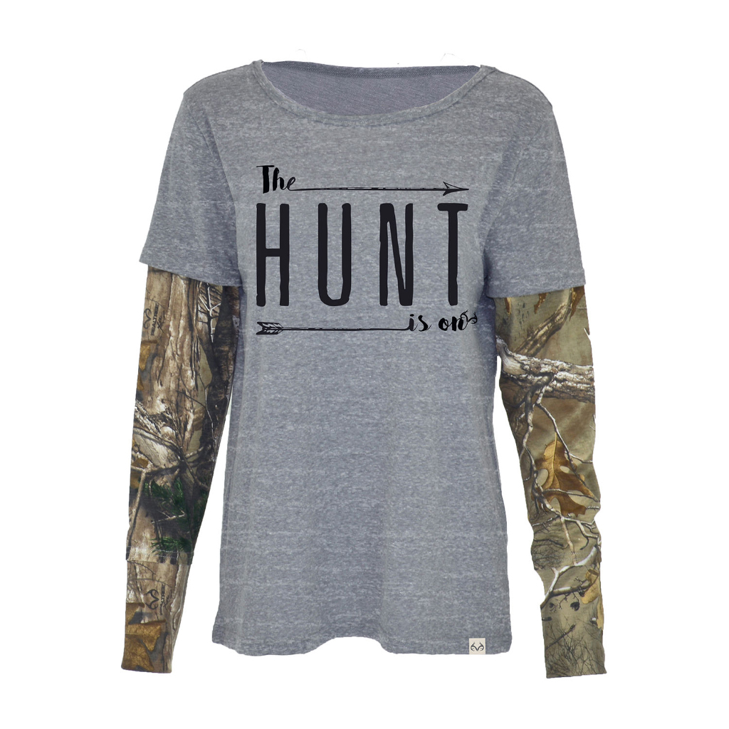 Realtree Women's Brisk Long-Sleeve Graphic Tee