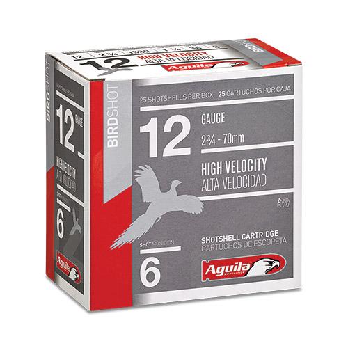 Aguila 12 Gauge High Velocity Field Shotshells, #6