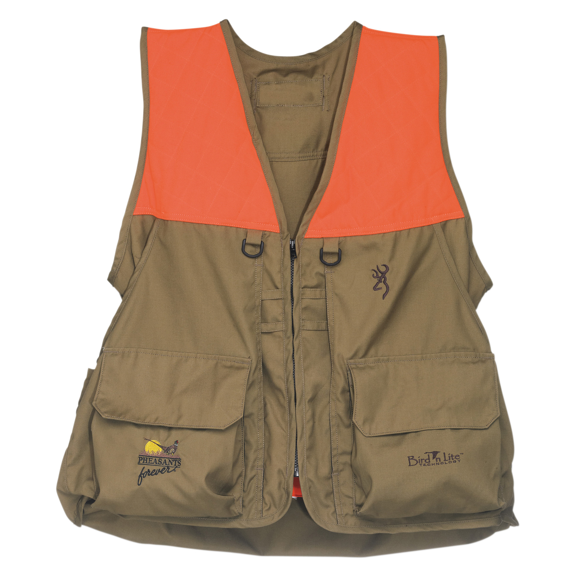 Browning Men's Pheasants Forever Bird'n Lite Upland Vest