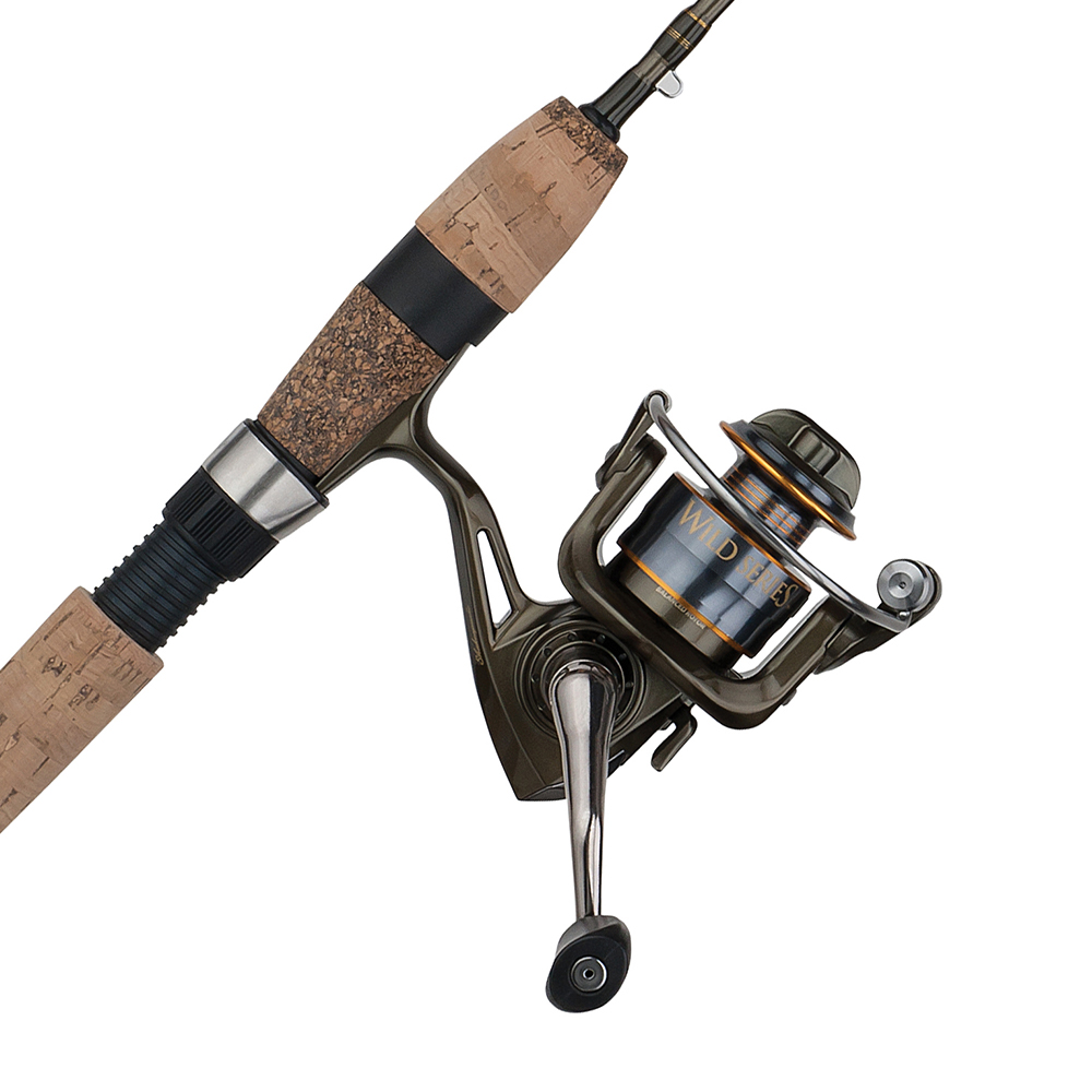Shakespeare Wild Series Trout Spinning Combo, 5'6″