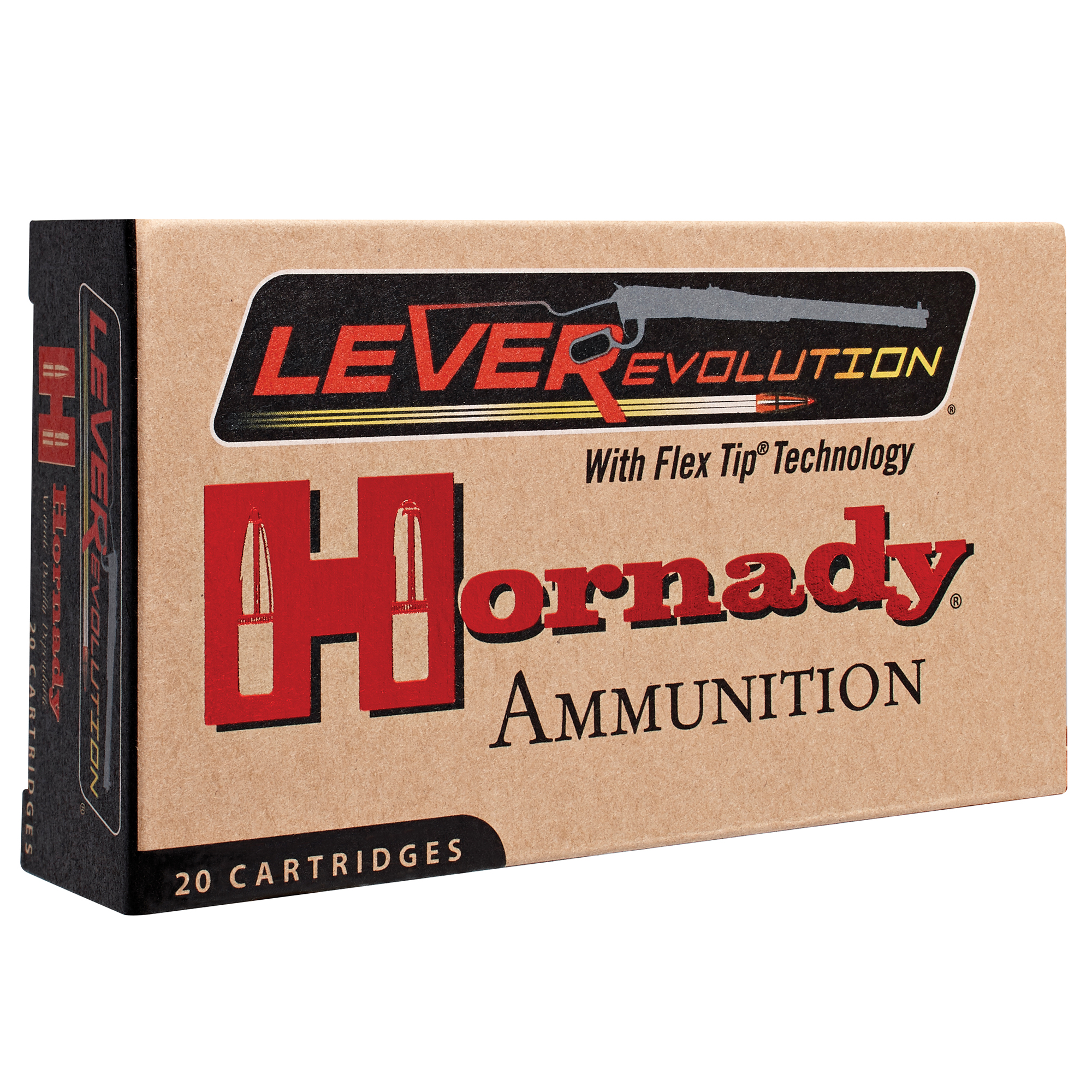 Hornady LEVERevolution Rifle Ammunition, .450 Marlin, 325-gr, FTX