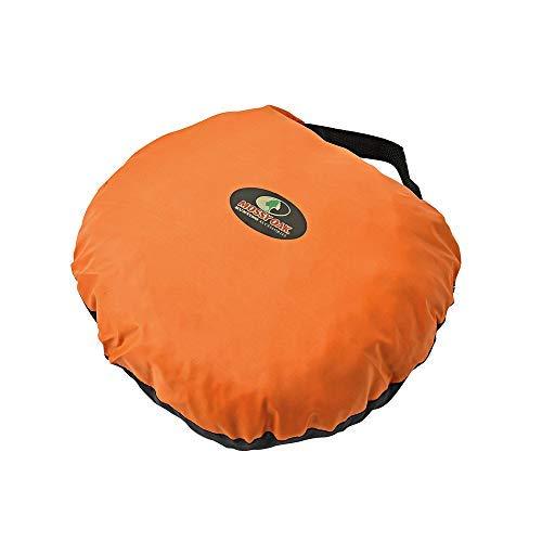 Mossy Oak Reversible Heat Seat, Blaze Orange/Black