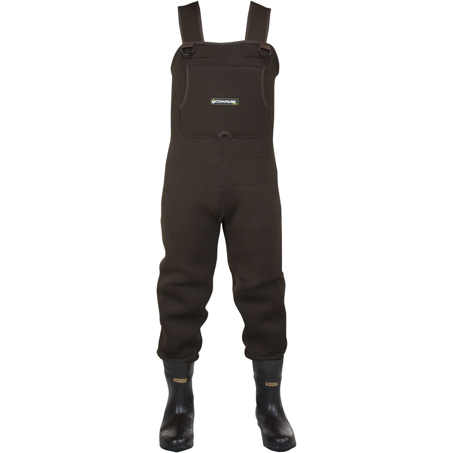 Compass 360 Men's Rogue 3.5mm Neoprene Boot-Foot Chest Waders thumbnail