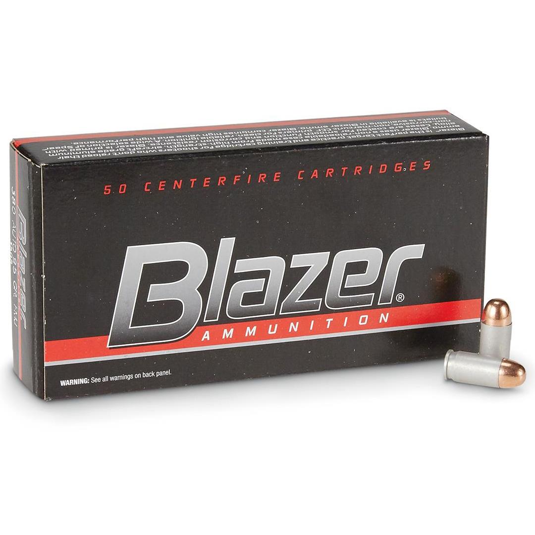 Blazer Handgun Ammo, .40 S & W, 180-gr, FMJ