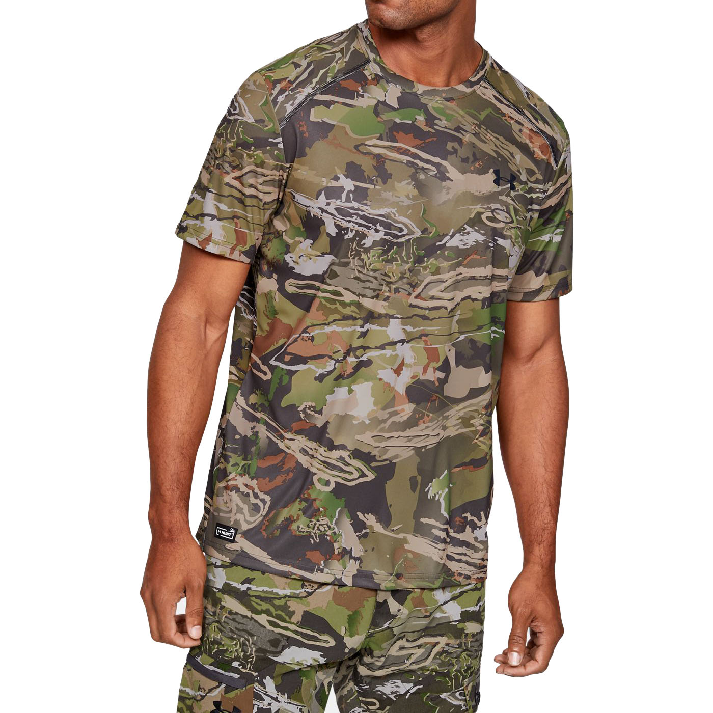 Under Armour Men's Iso-Chill Brush Line Short-Sleeve Tee
