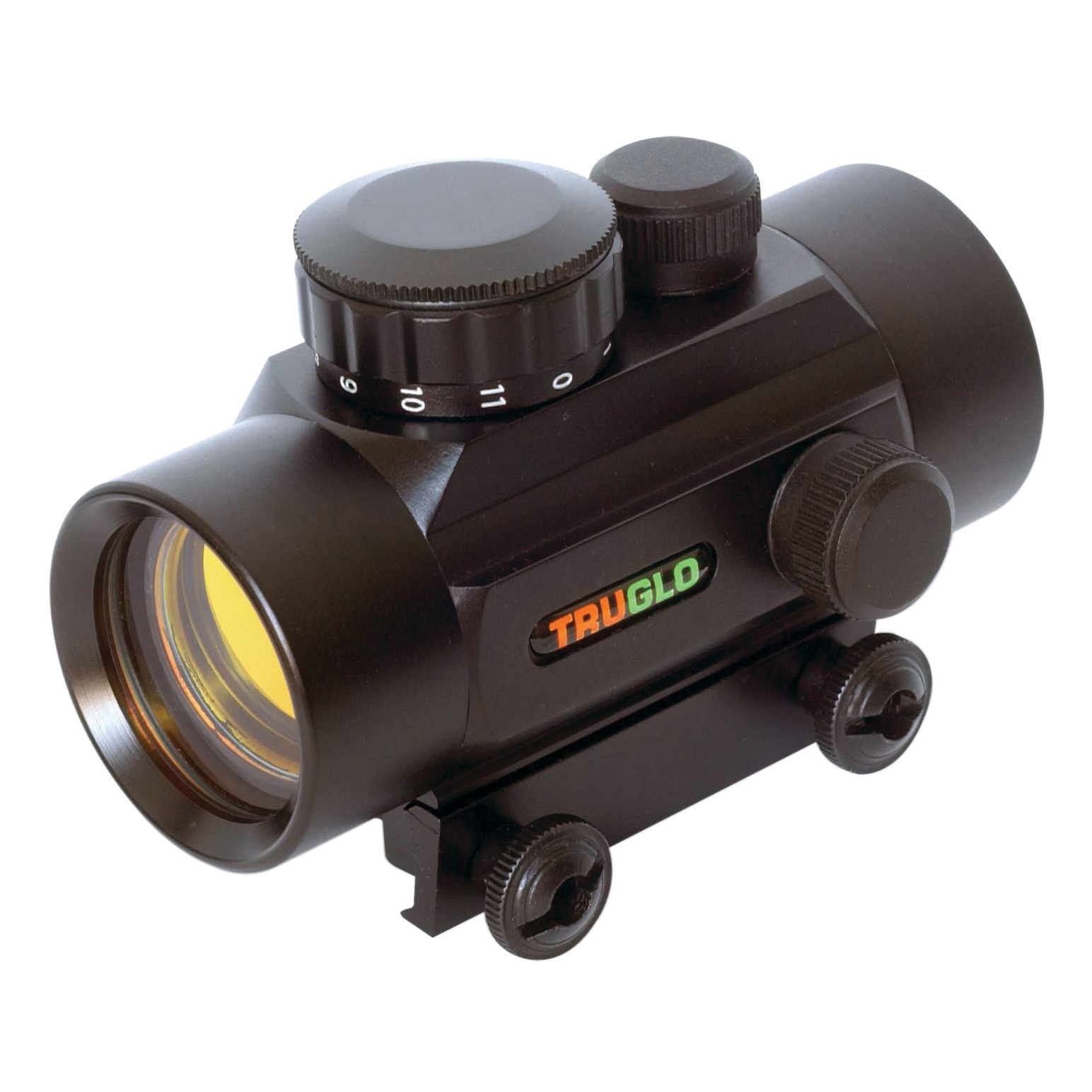 TruGlo Traditional 1×30 Red-Dot Sight, 5 MOA, Black, model TG8030P