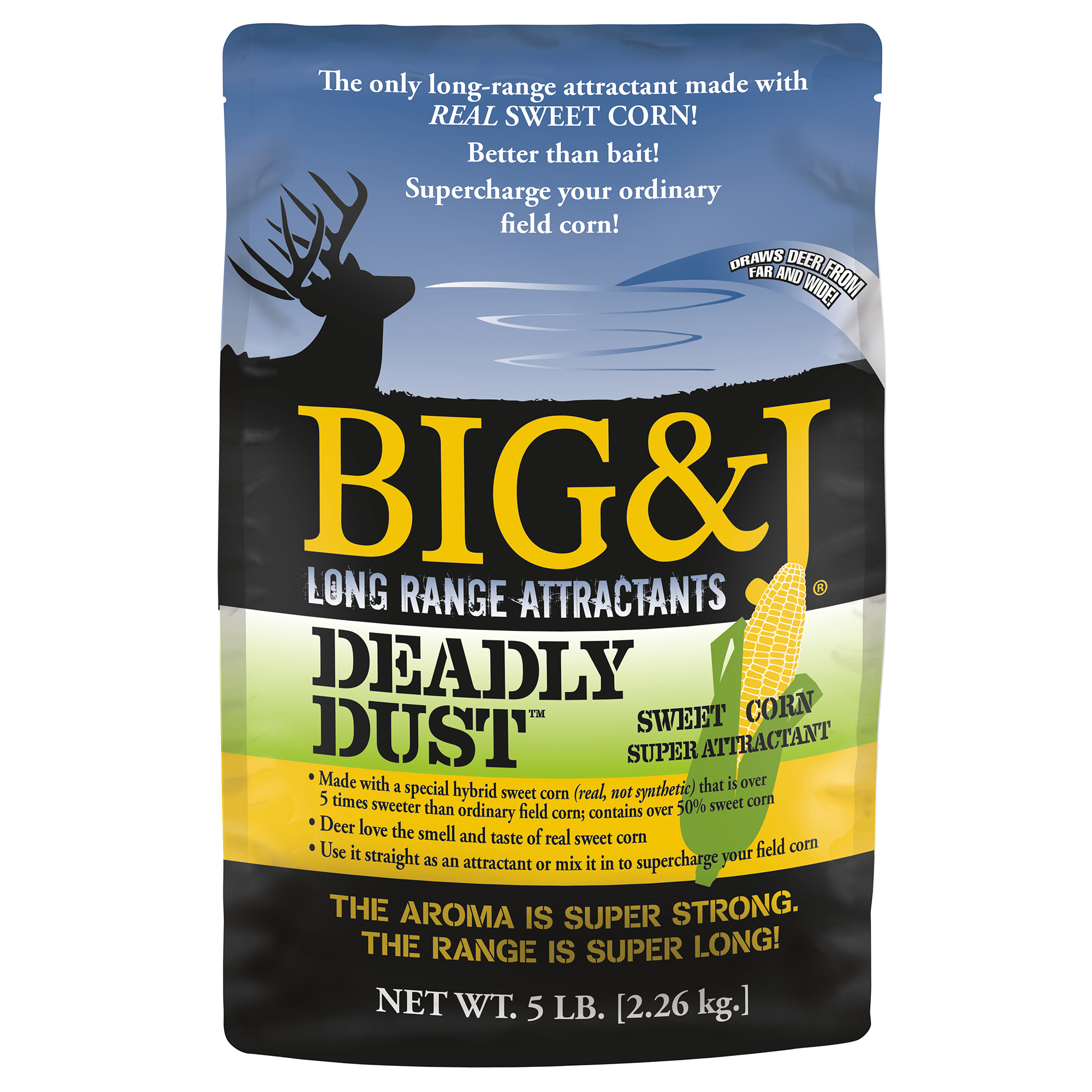Big & J Deadly Dust Deer Attractant, 5 lbs.