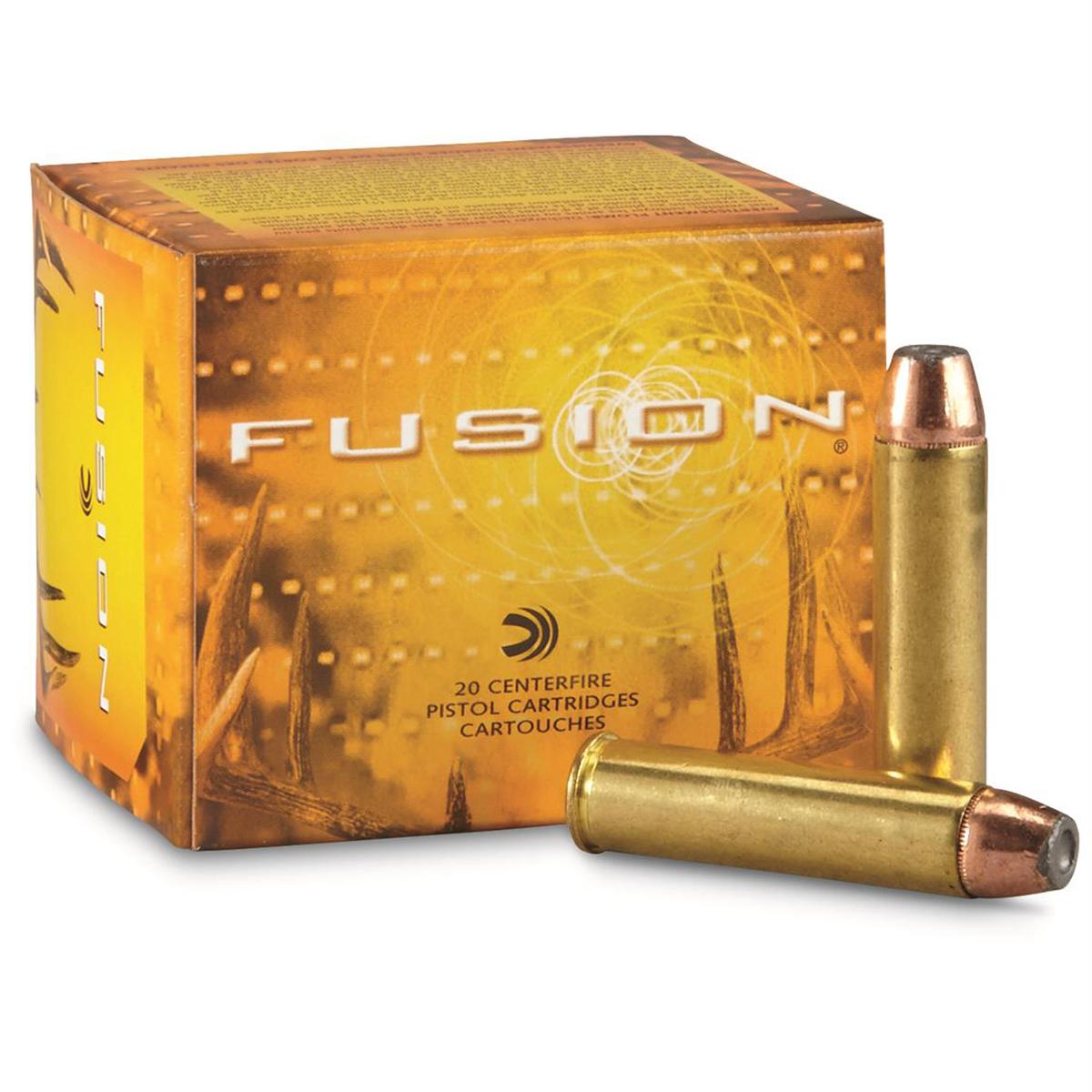 Fusion Handgun Ammunition, .454 Casull, 260-gr, JHP