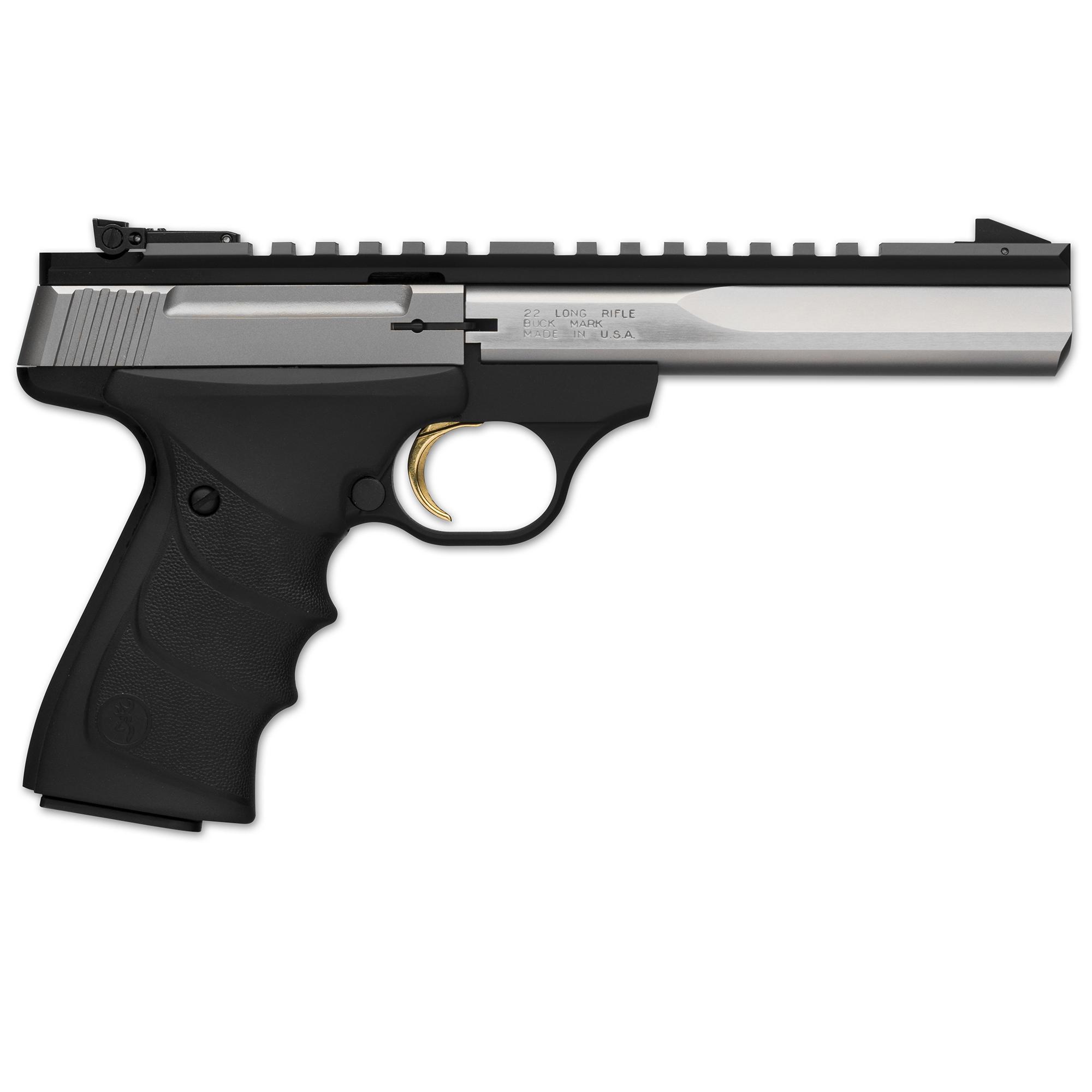 "Browning Buck Mark Contour Stainless Handgun, 5.5"" BBL thumbnail"