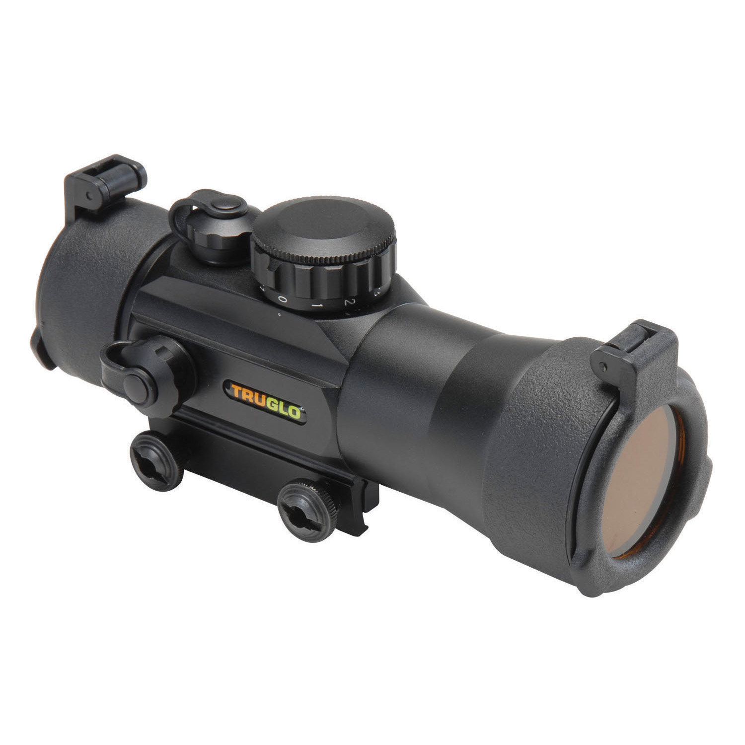 TruGlo Traditional 2×42 Red-Dot Sight, 2.5 MOA, Black
