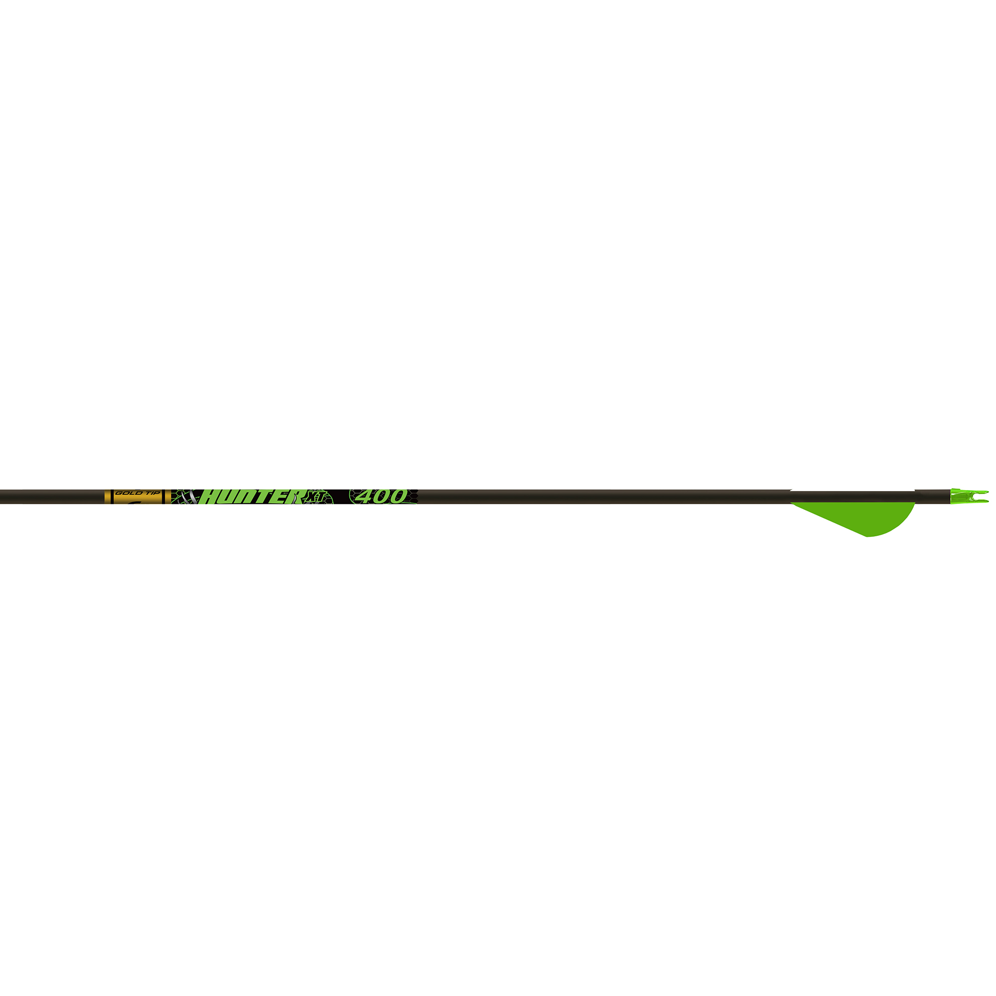 """Gold Tip Hunter XT Arrows with 2"""" Raptor Vanes, 340, 6-Pack thumbnail"""