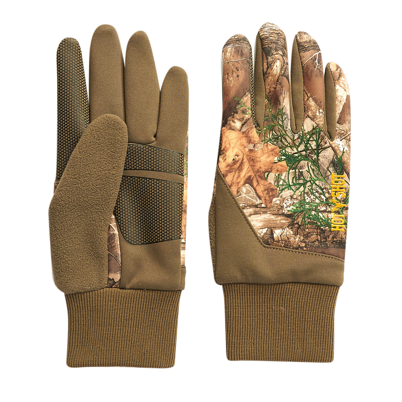 Hot Shot Men's Eagle Stretch Fleece Touch Glove