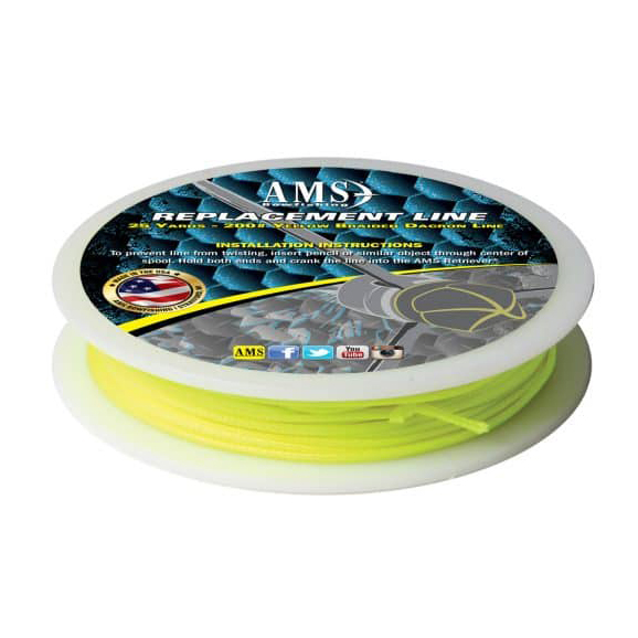 AMS Bowfishing Replacement Bowfishing Line, 200-lb, 25 Yards thumbnail