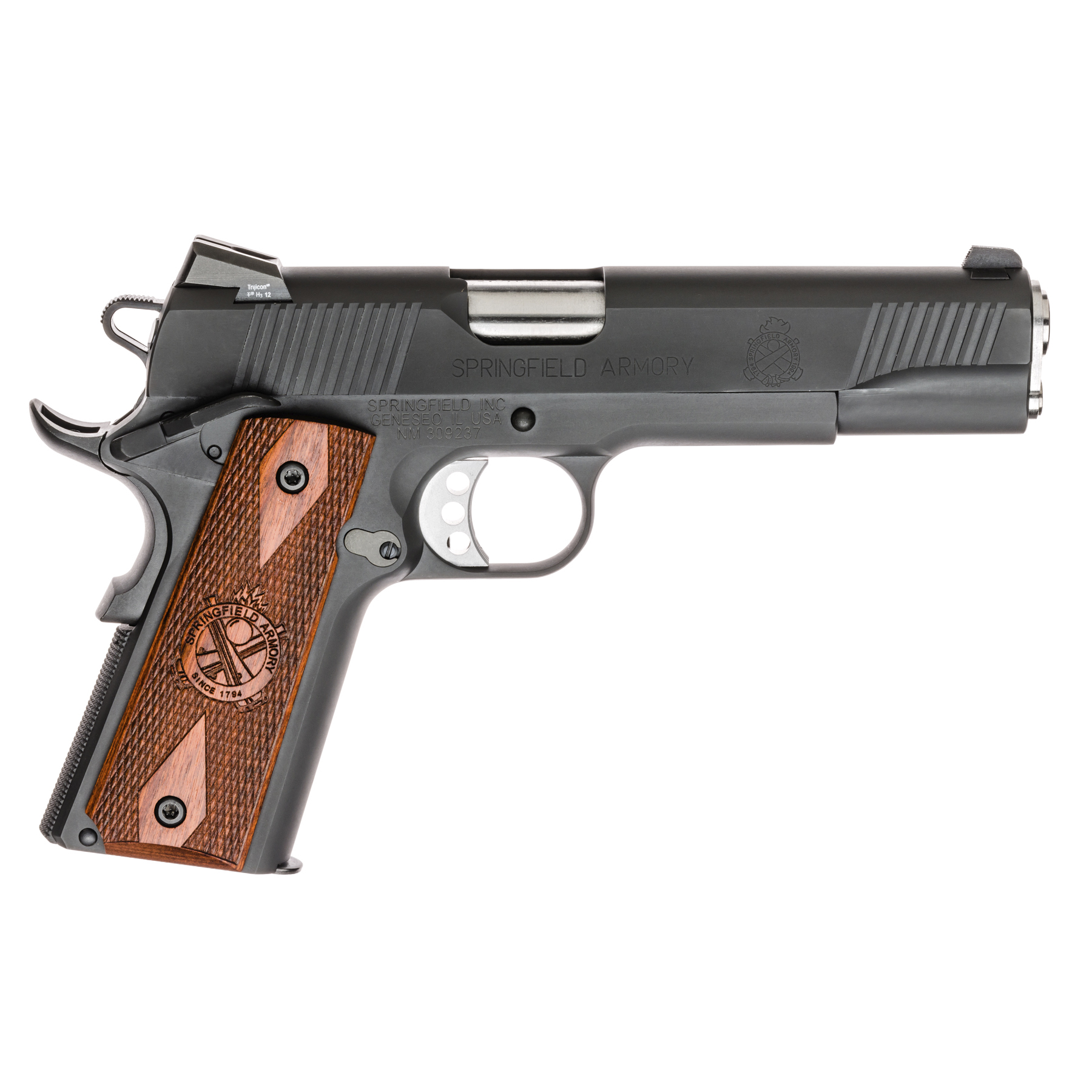 Springfield 1911 Loaded Parkerized Handgun