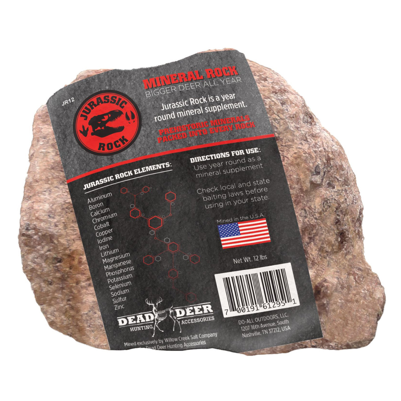 Do-All Outdoors Jurassic Rock Deer Mineral Supplement