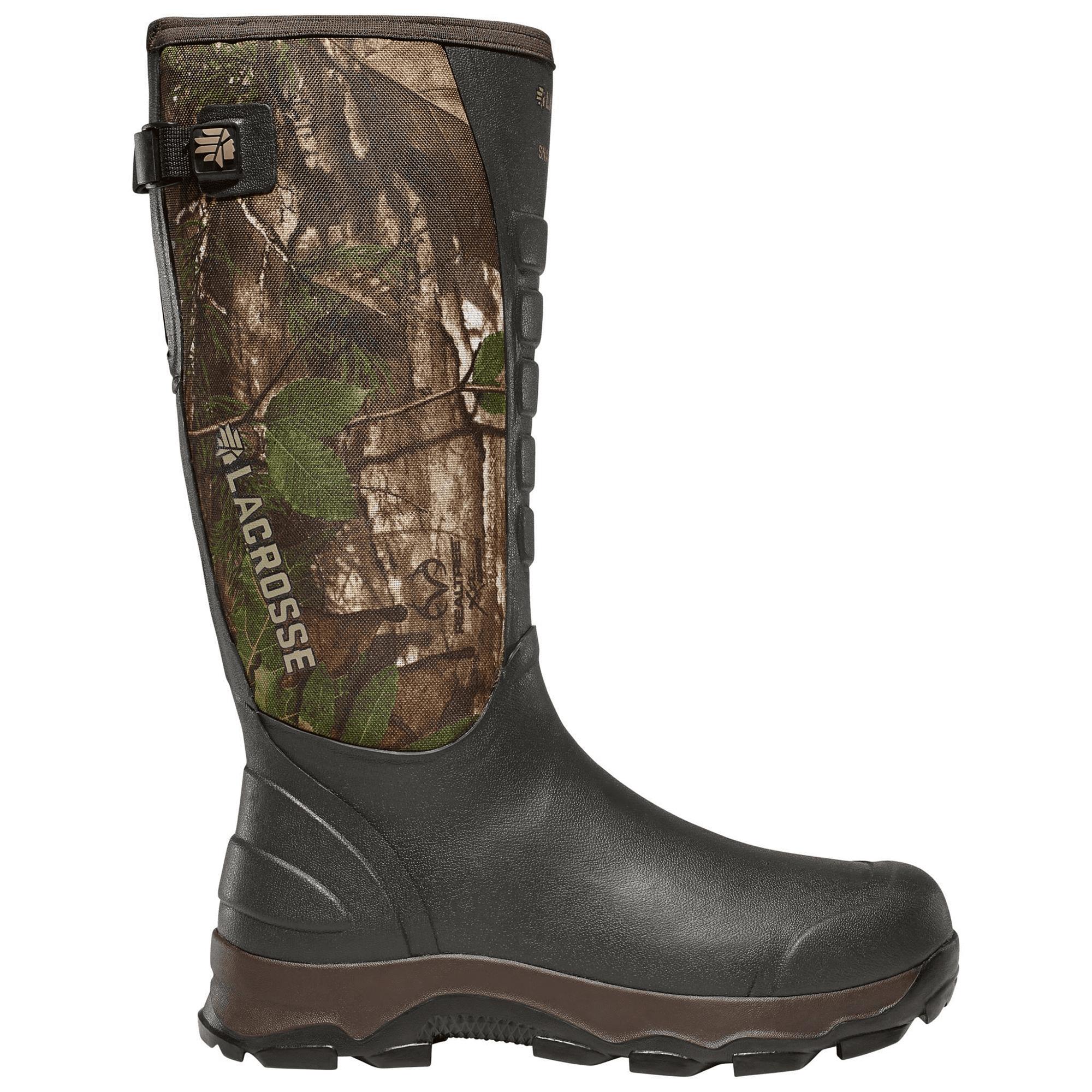 LaCrosse Men's 4xAlpha 16″ Snake Boot, Realtree Xtra Green Camo