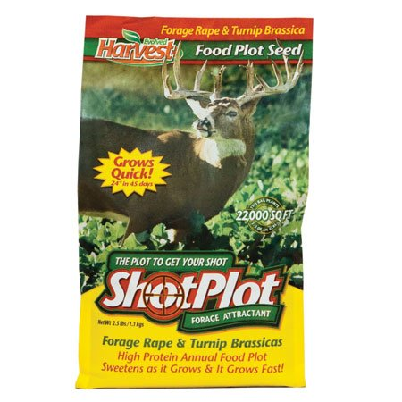 Evolved Harvest ShotPlot Food Plot Seed, 2-1/2 lbs.