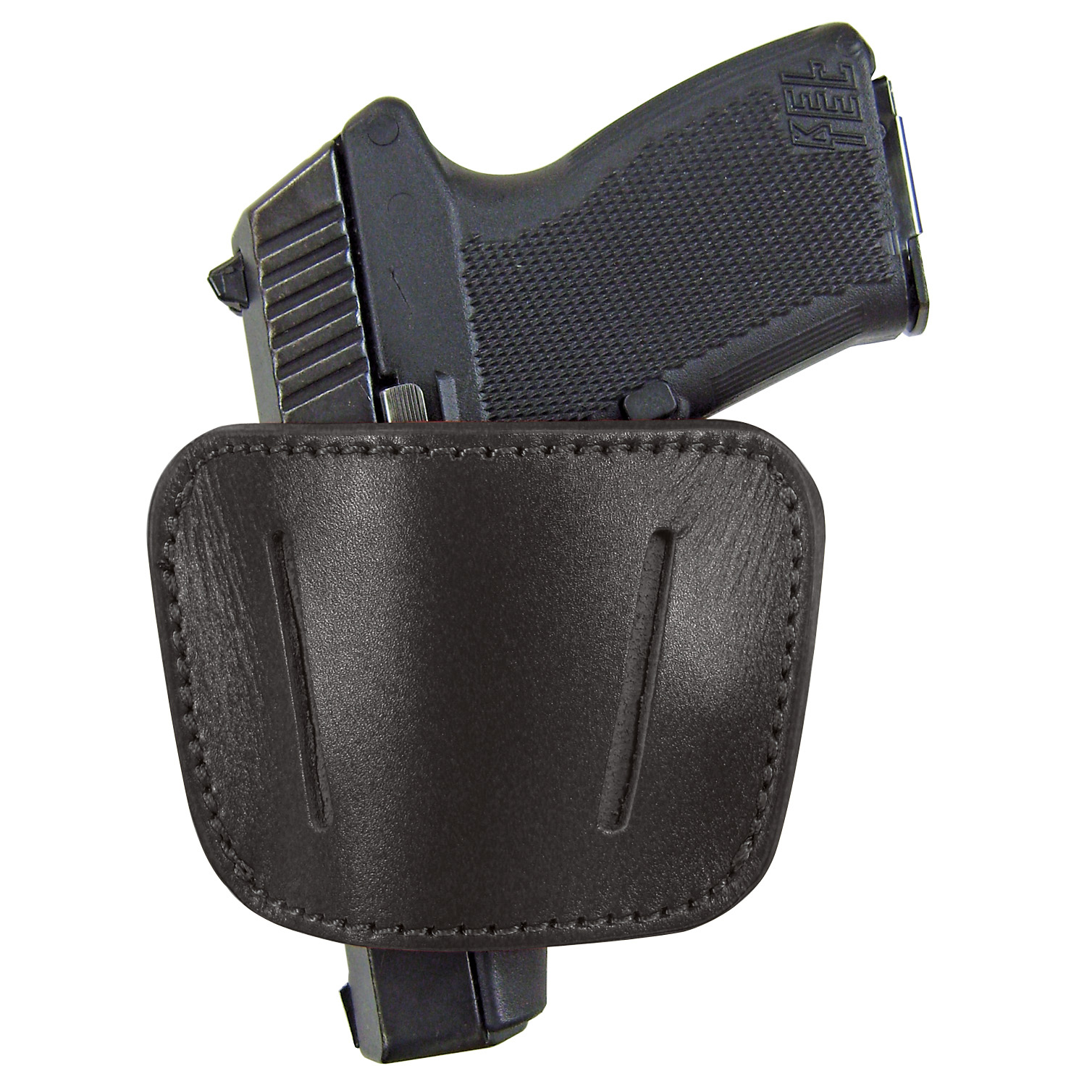 PS Products Belt Slide Holster, Black, Medium to Large Handgun