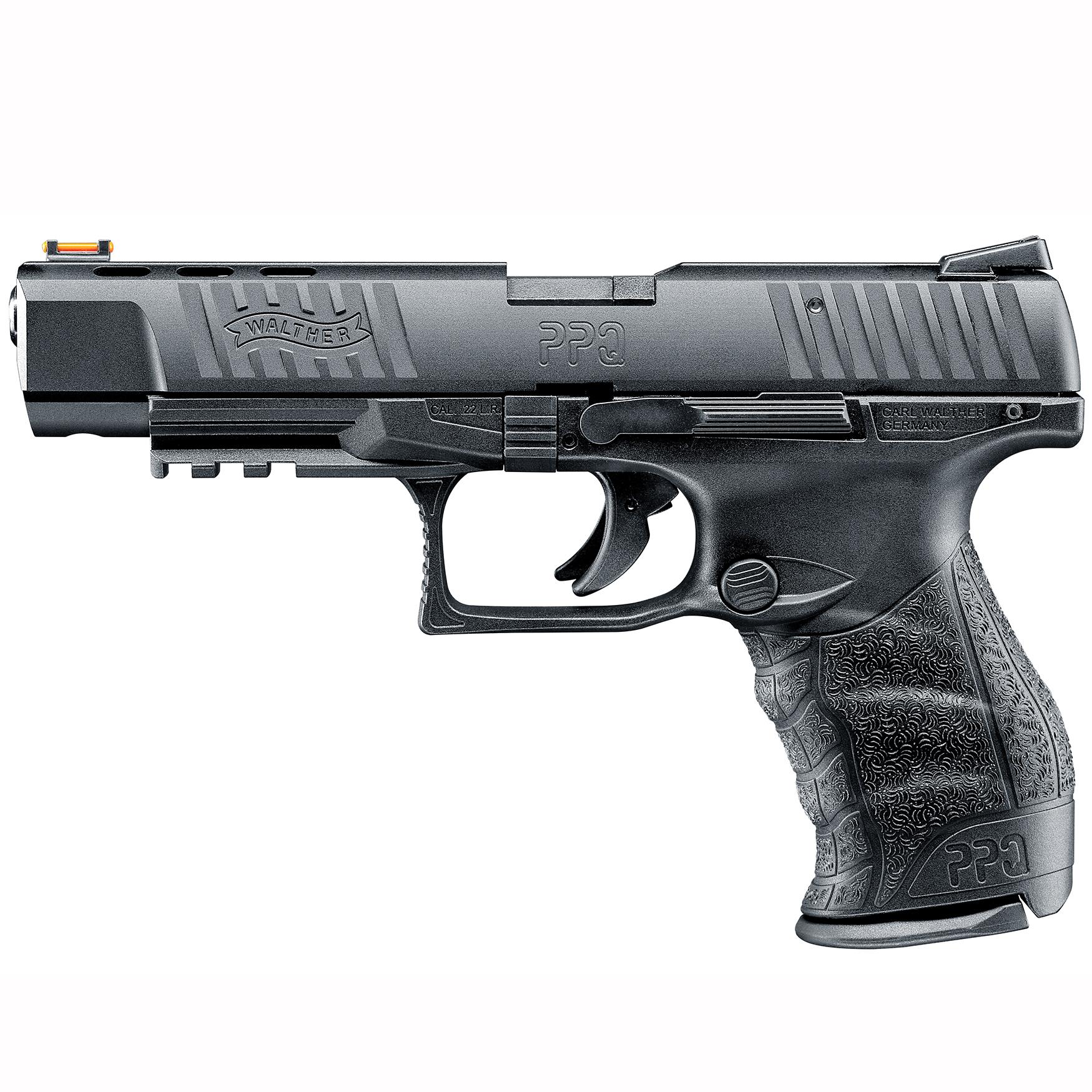 Walther PPQ M2 22 Target Handgun, .22 LR, 10 Rd.