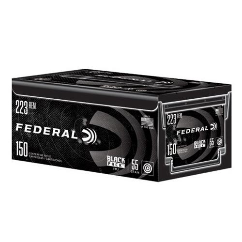 Federal Black Pack Ammo, .223/5.56mm