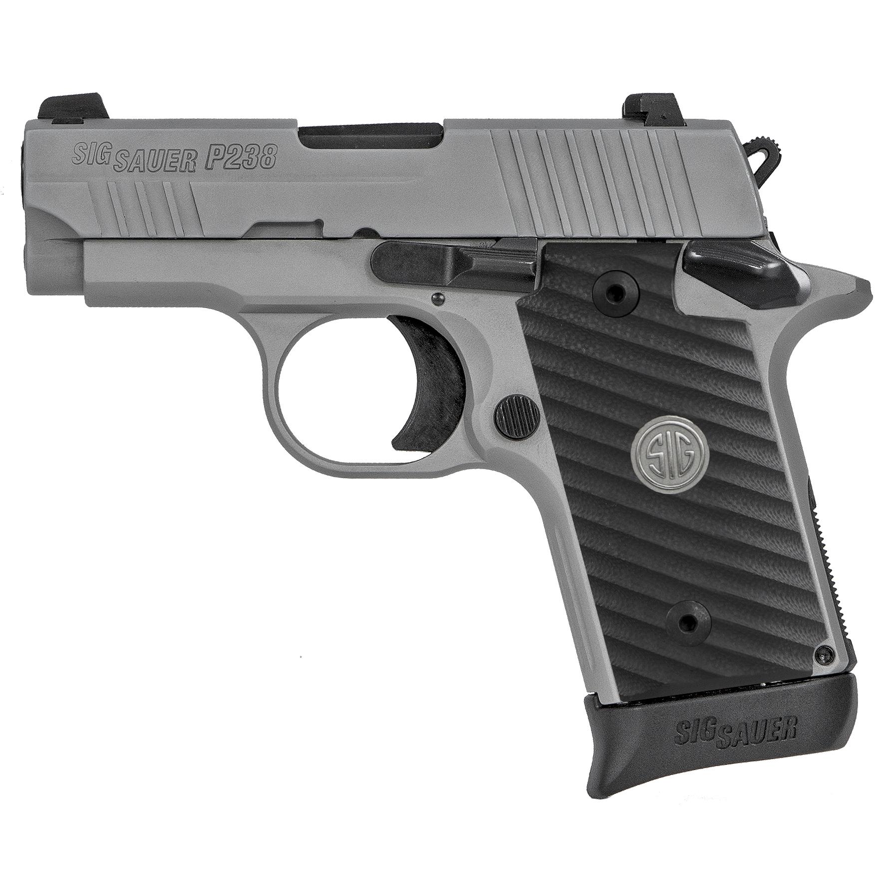 SIG Sauer P238 Alloy Stainless Elite Handgun