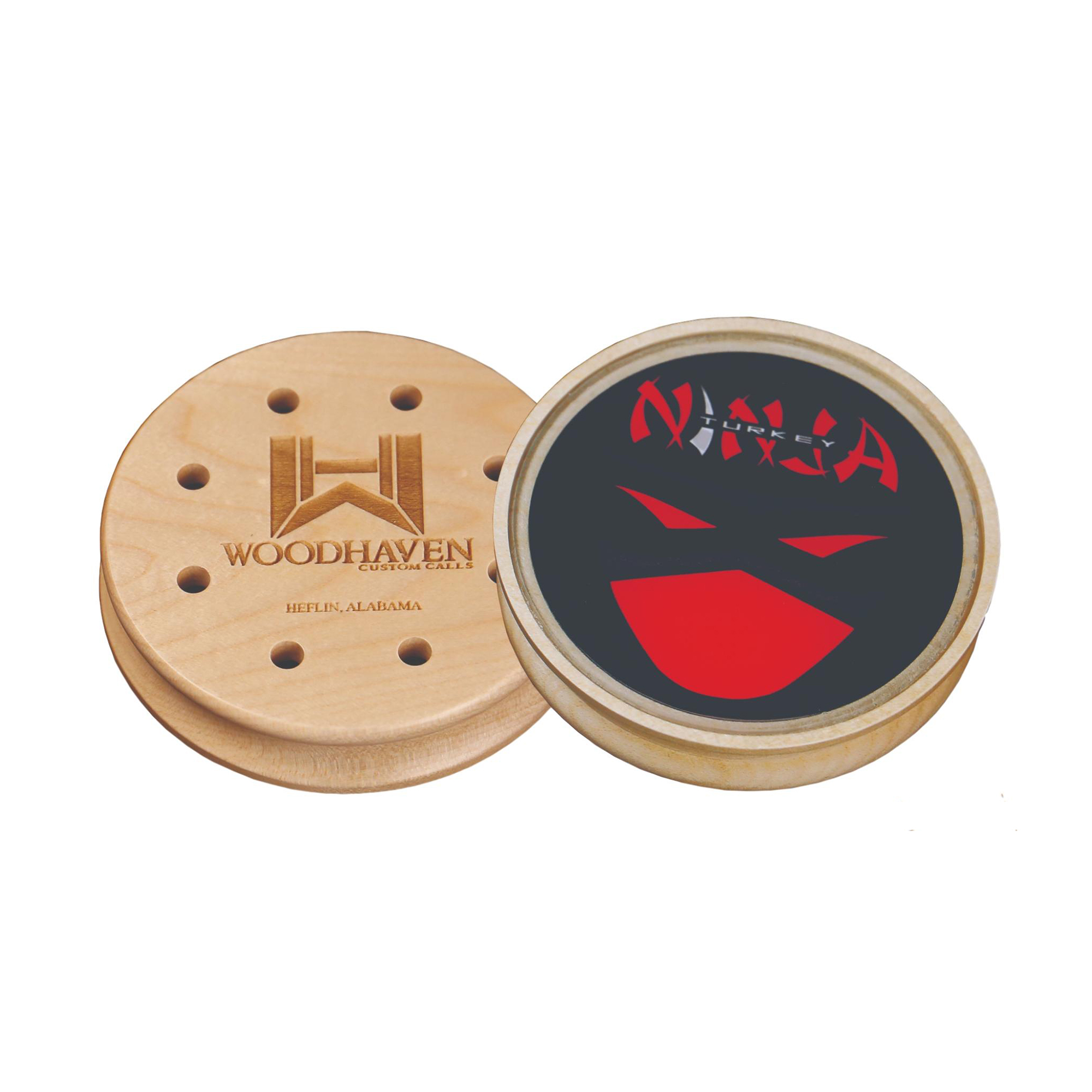 WoodHaven RED Ninja Glass Friction Turkey Call