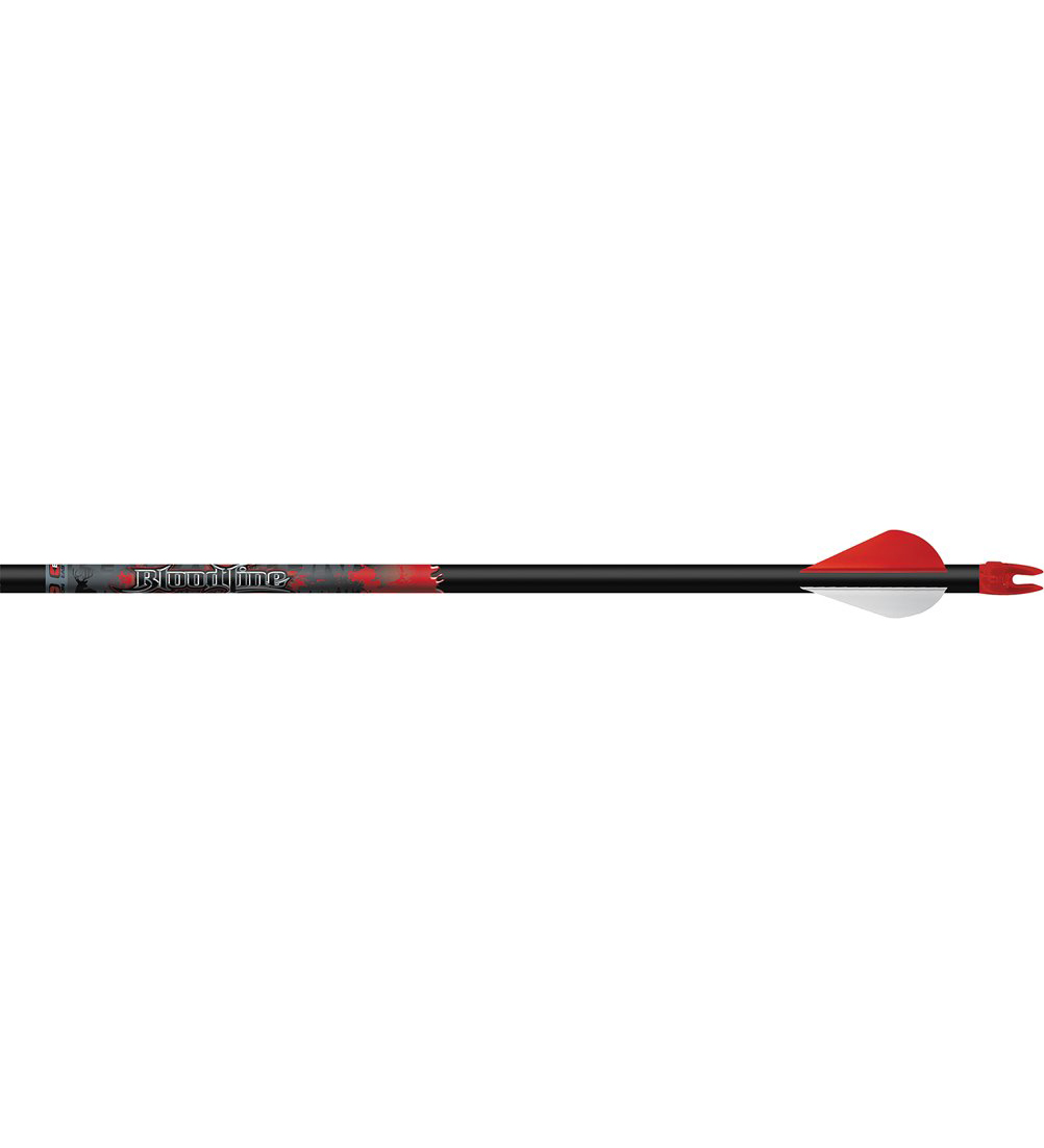 Easton Bloodline F.O.C. 240 6mm Arrows, 2″ Vanes