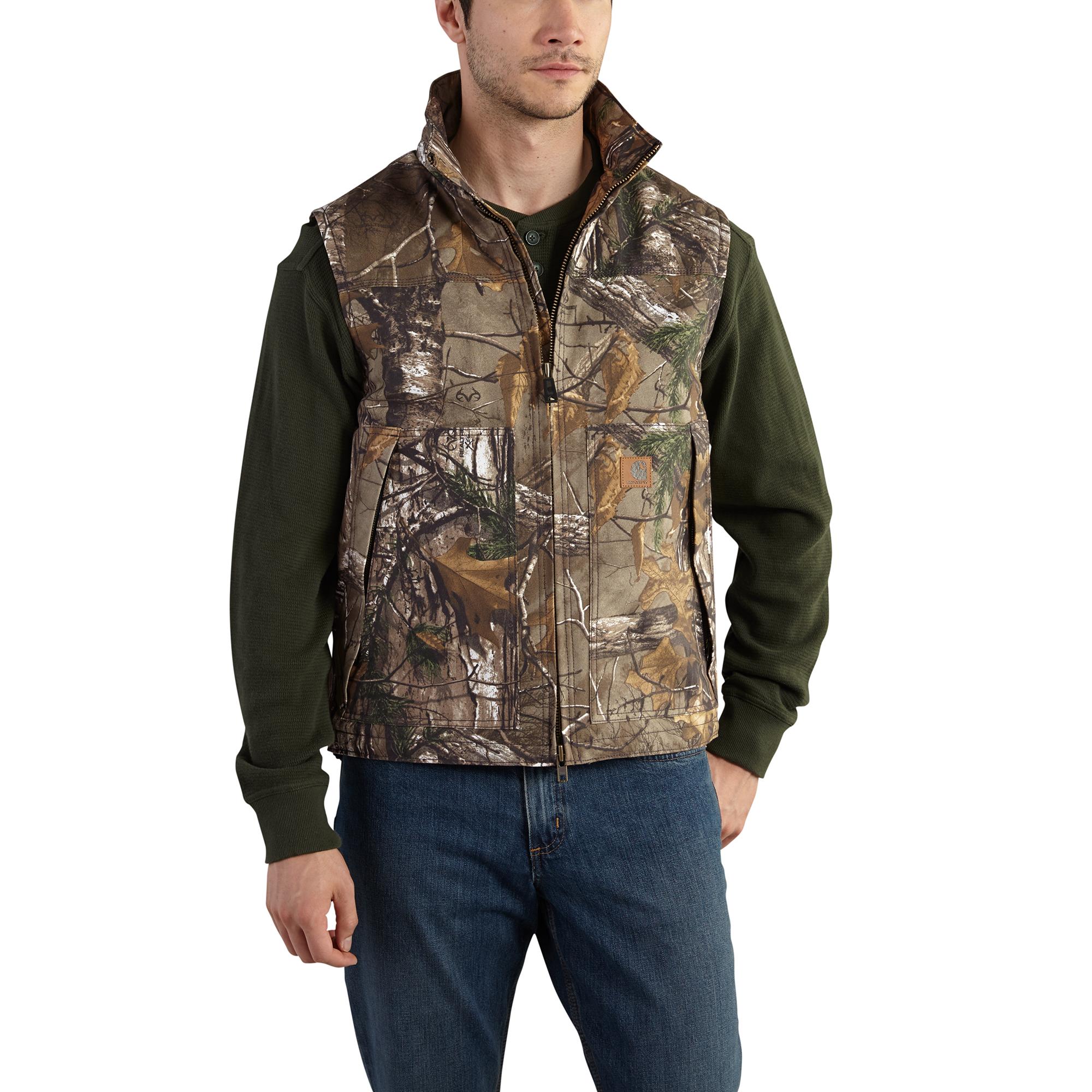 Carhartt Men's Quick Duck Camo Vest