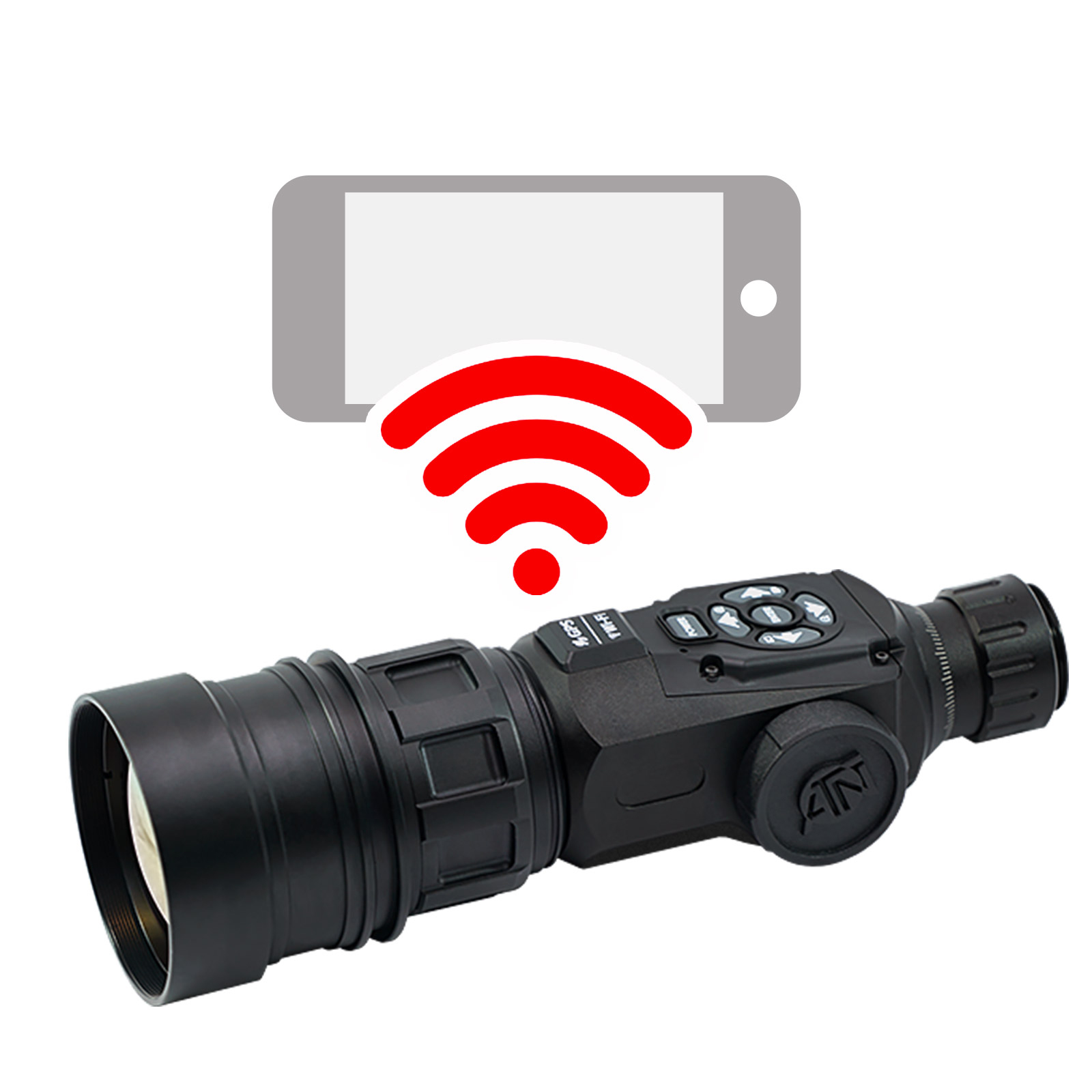 ATN OTS-HD Monocular, 5-50×100