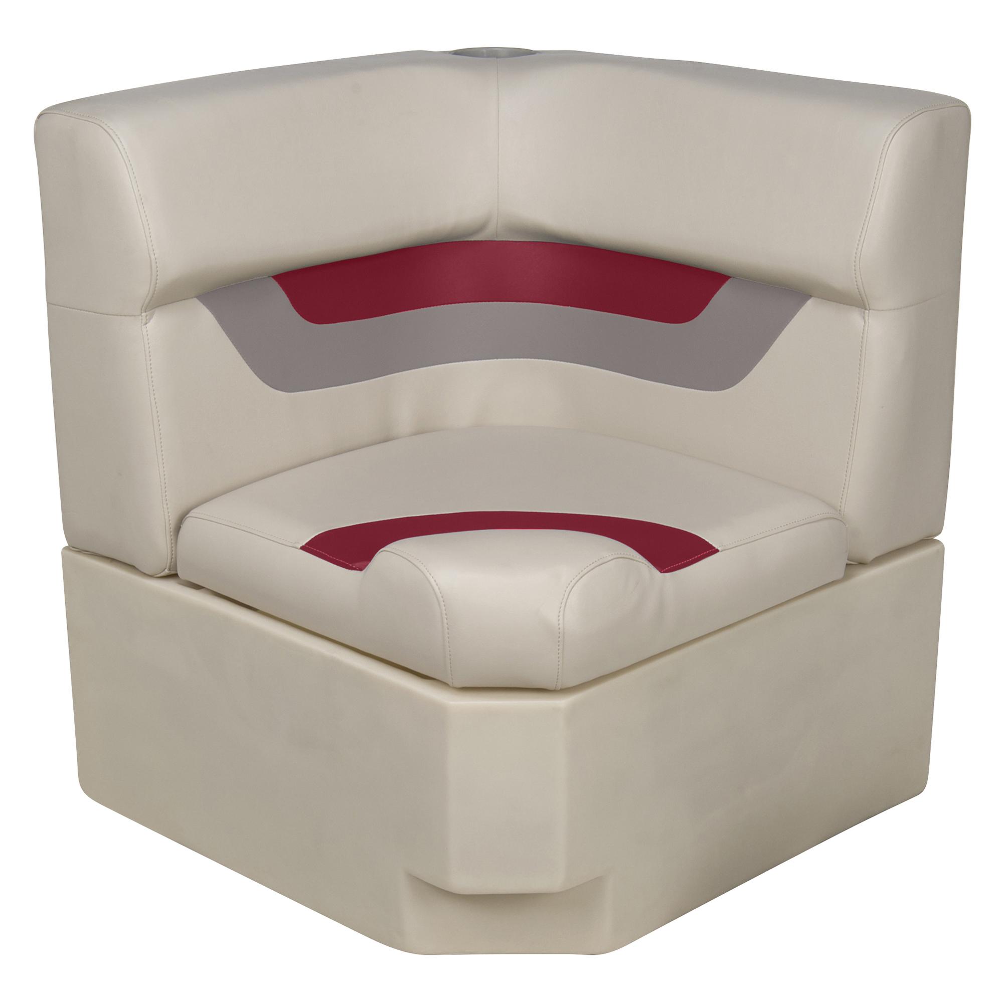 Toonmate Designer Pontoon Corner Section Seat - TOP ONLY