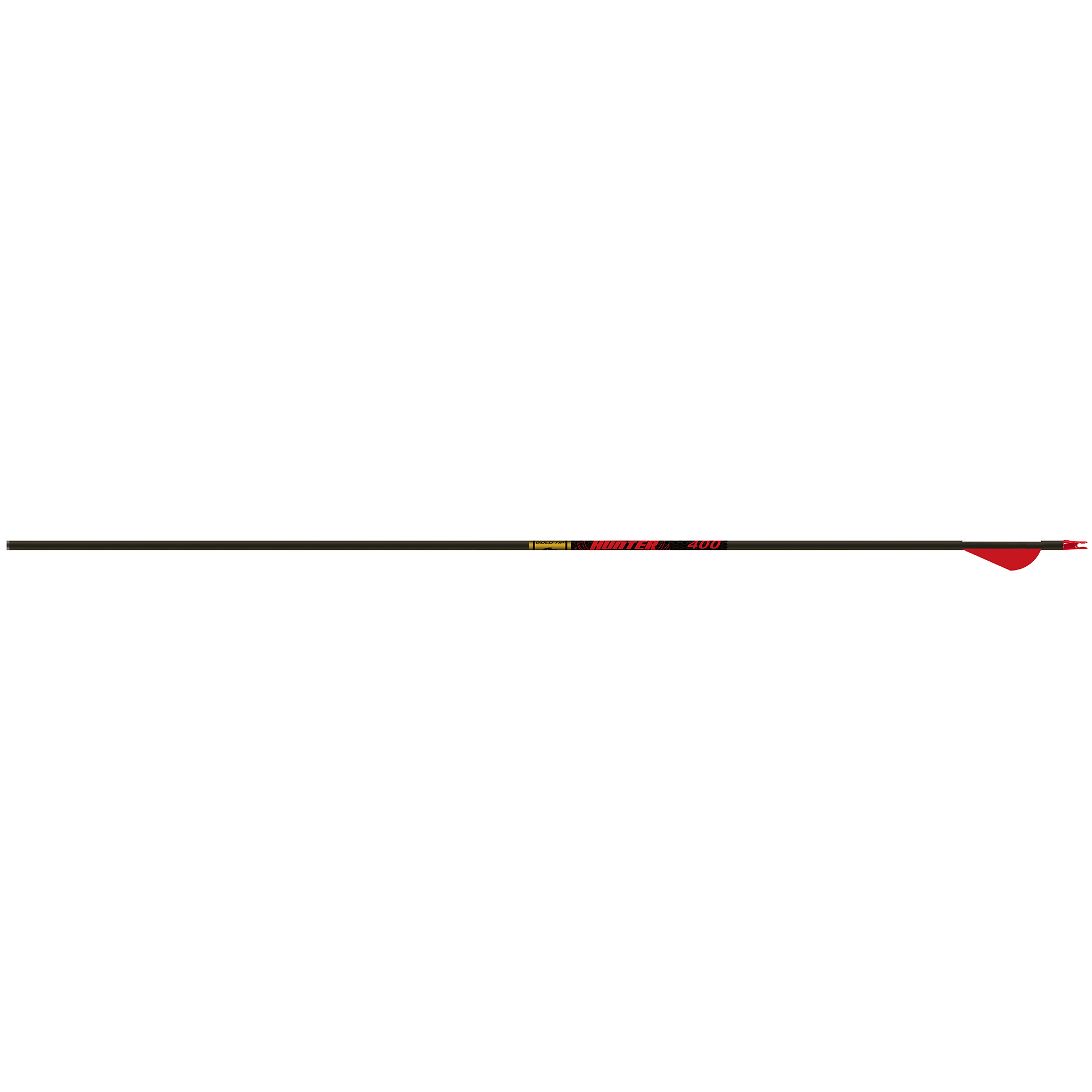 "Gold Tip Hunter Arrows with 2"" Raptor Vanes, 6 Pk."