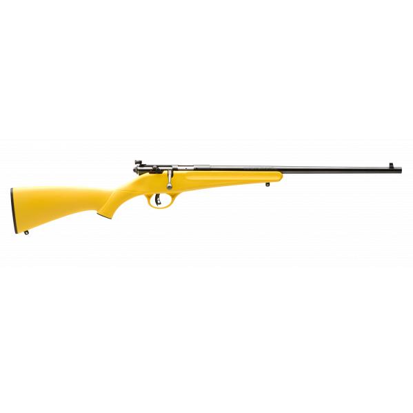 Savage Rascal Rimfire Rifle, .22 LR, Yellow