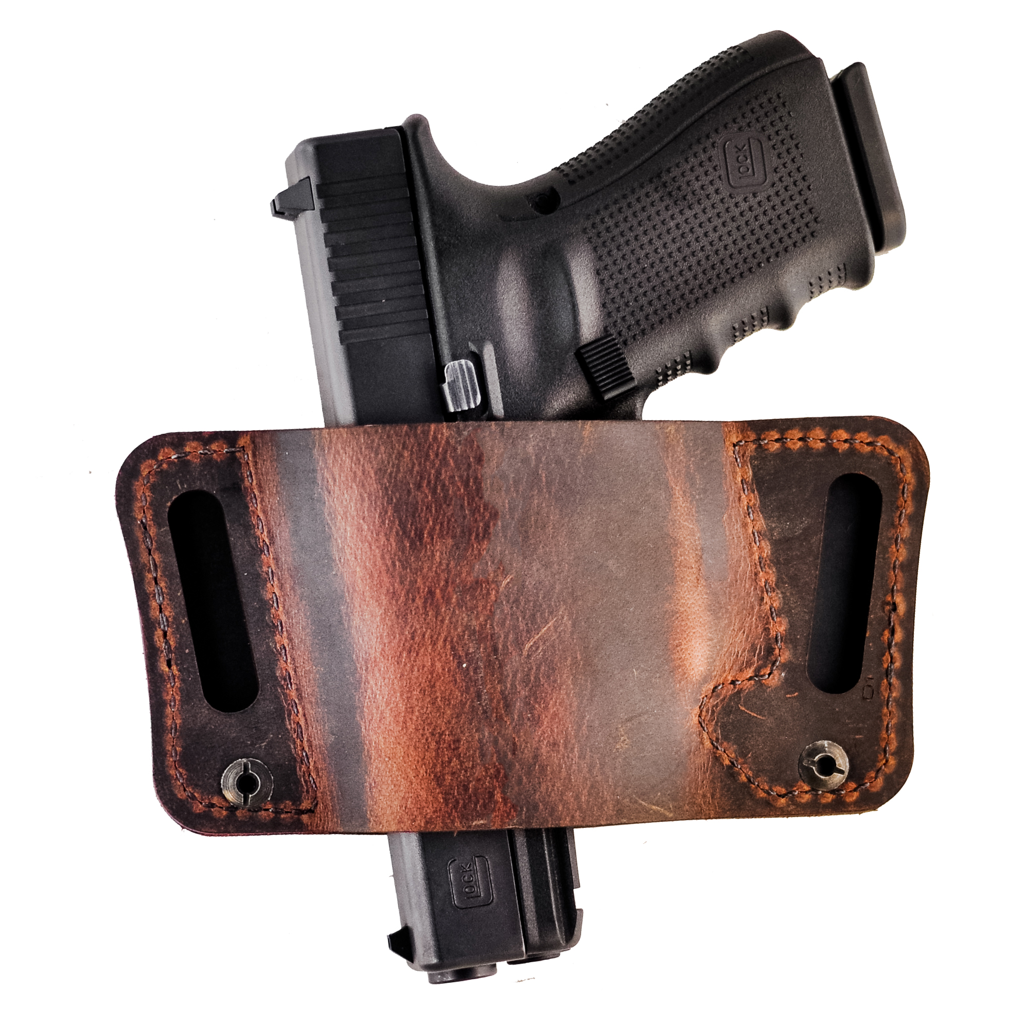 Versacarry Orion Holster, Distressed Brown, Size 2