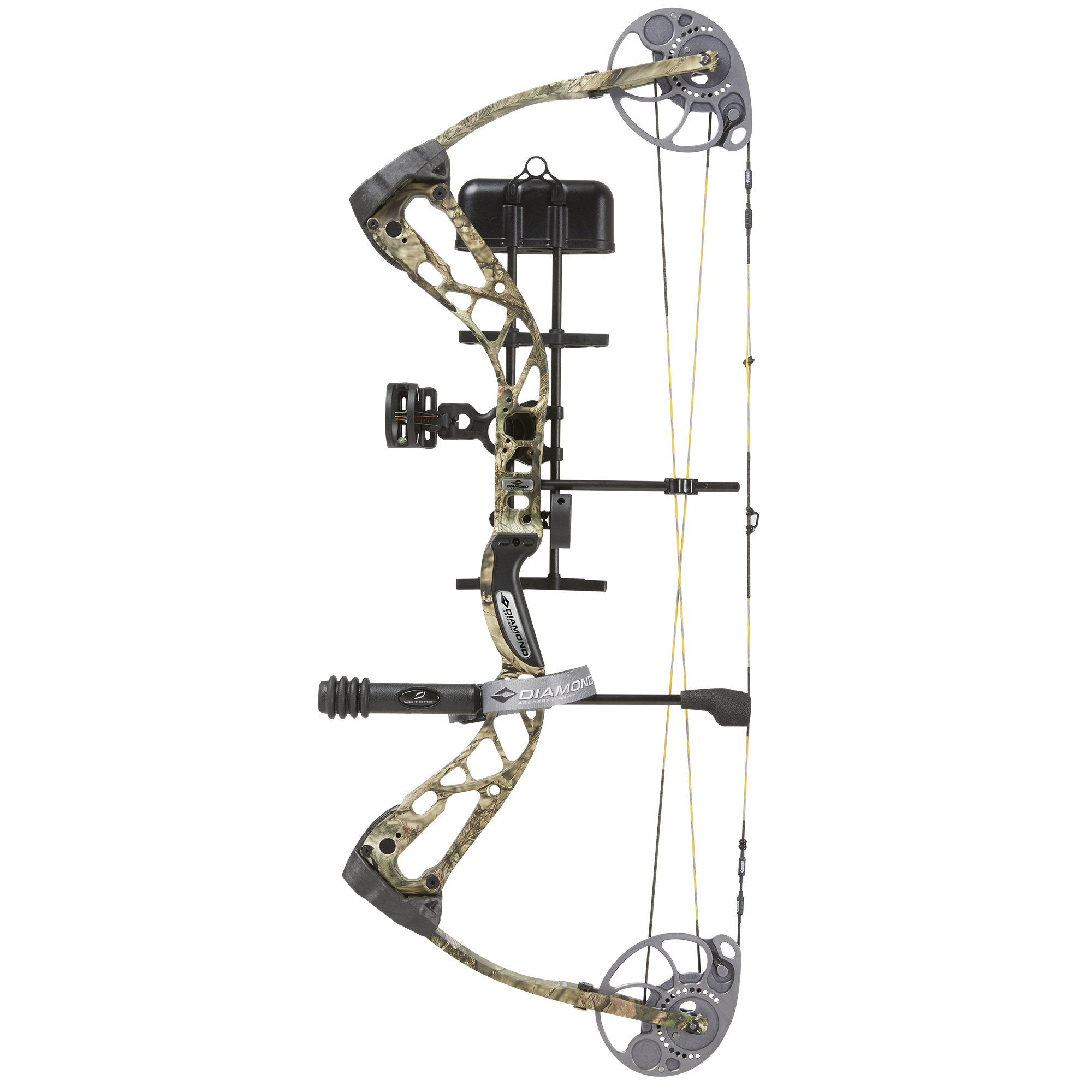 BowTech Diamond Archery Edge SB-1 Compound Bow Package, RH, Camo