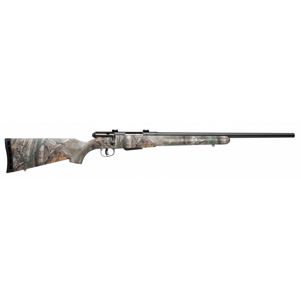 Savage Model 25 Walking Varminter RealTree Extra Camo Centerfire Rifle, .17 Hornet