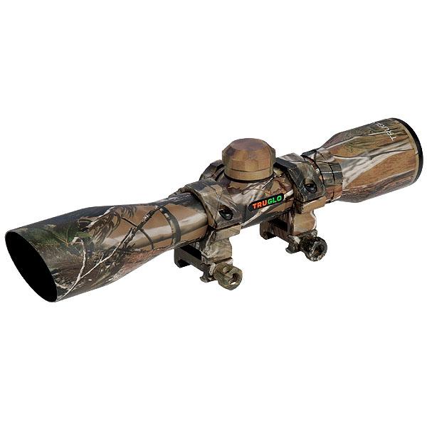 TruGlo Compact 4x32mm Crossbow Scope, Camo