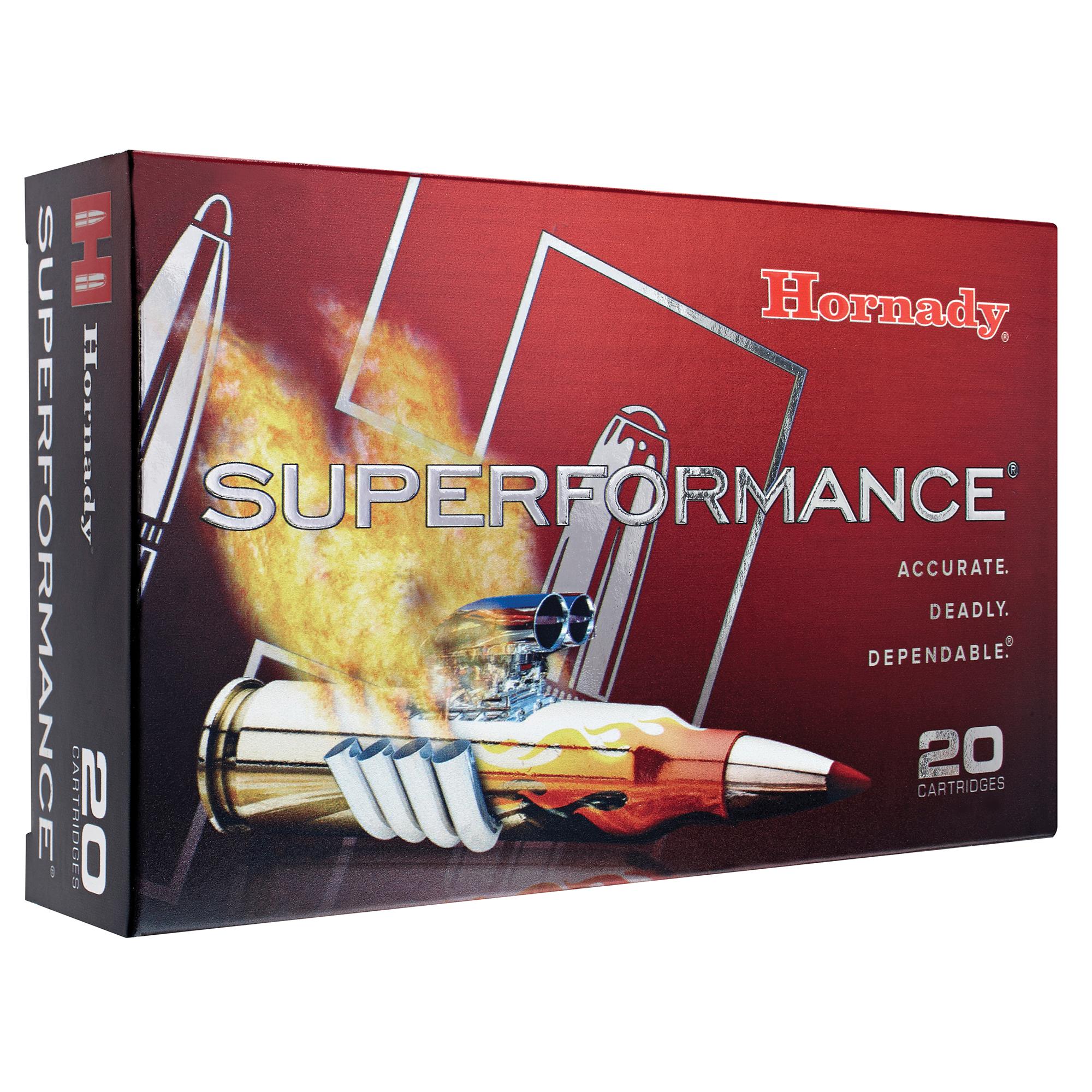 Hornady Superformance Ammo, .308 Win, 165-gr, SST