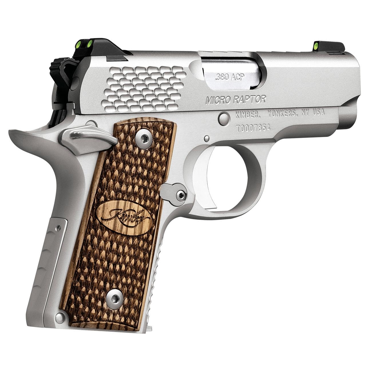 Kimber Micro Raptor Stainless Handgun