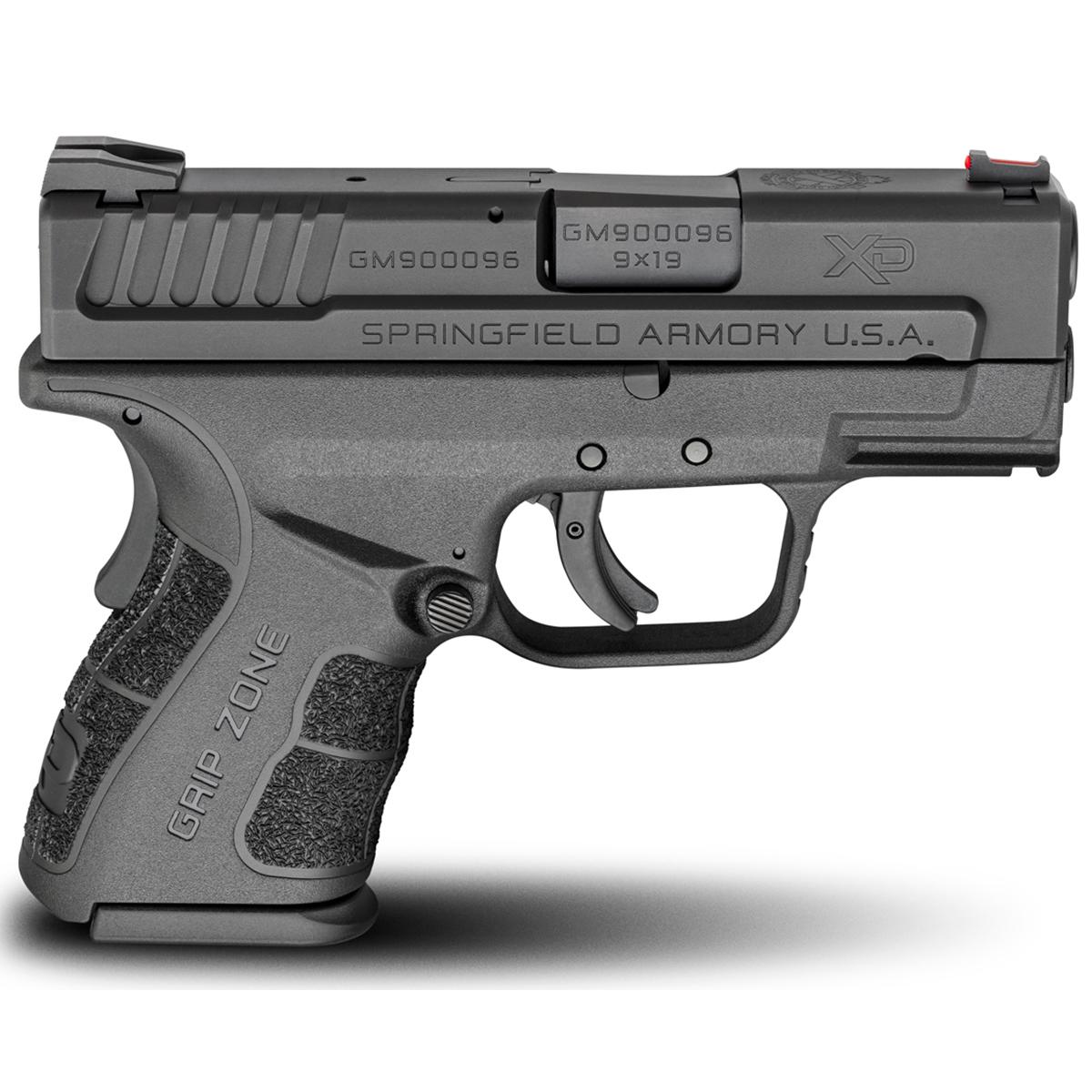 Springfield XD Mod.2 3″ Sub-Compact Handgun, 9mm Luger, 10 Rd, Black