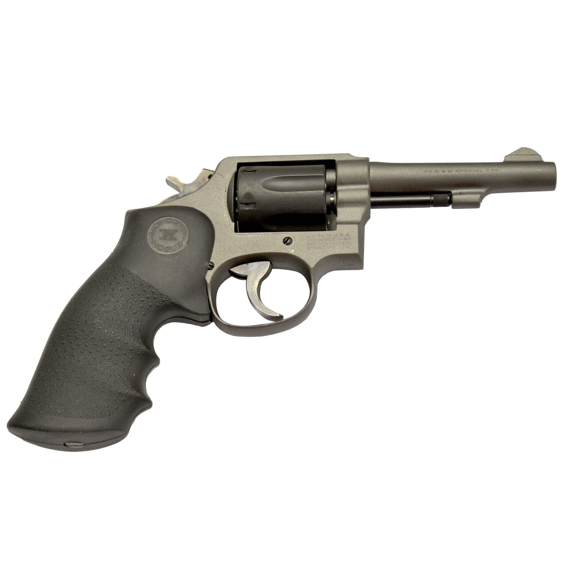 Used Smith & Wesson Model 10-7 Revolver, .38 Special, Cerakote