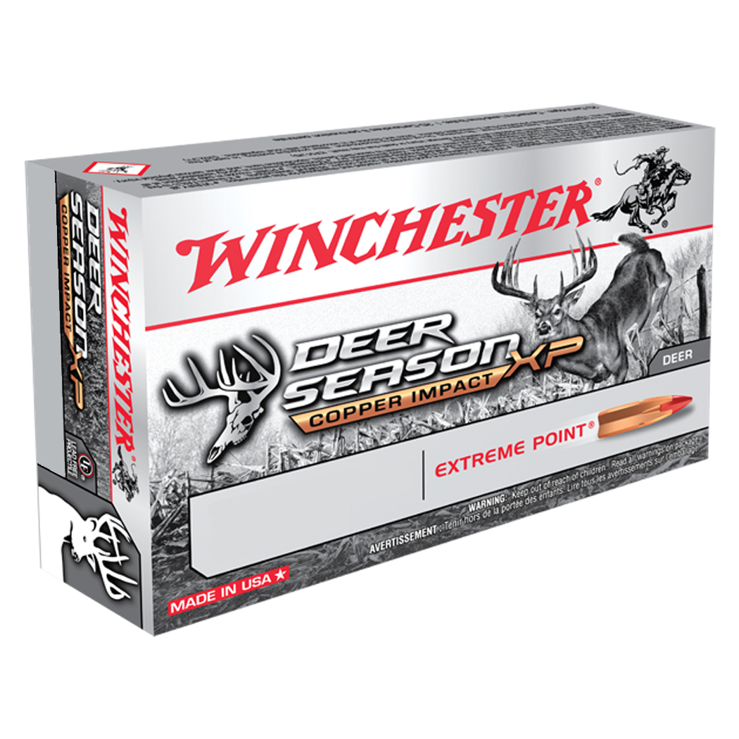 Winchester Deer Season XP Copper Impact Rifle Ammunition, .300 Win Mag, 150-gr.