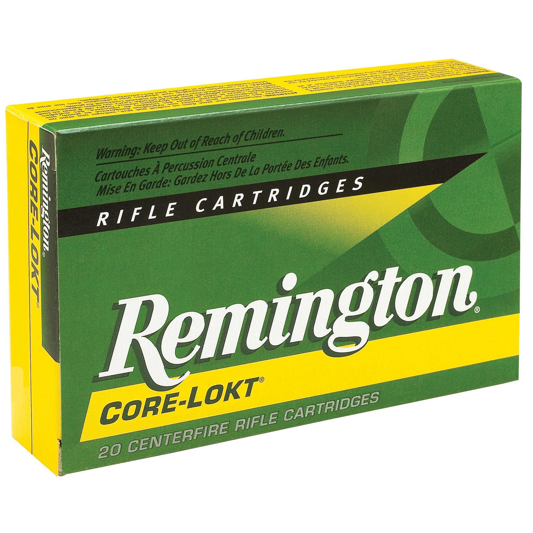 Remington Core-Lokt Rifle Ammunition, .243 Win, 100-gr, PSP