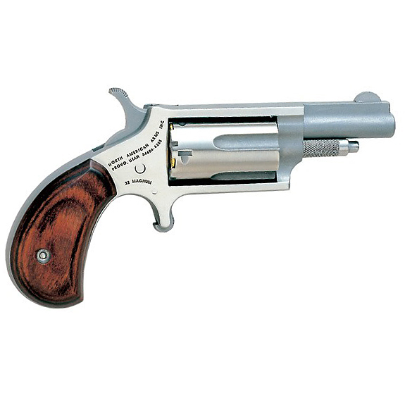 North American Arms Mini-Revolver, .22 WMR, 1.7″, Stainless