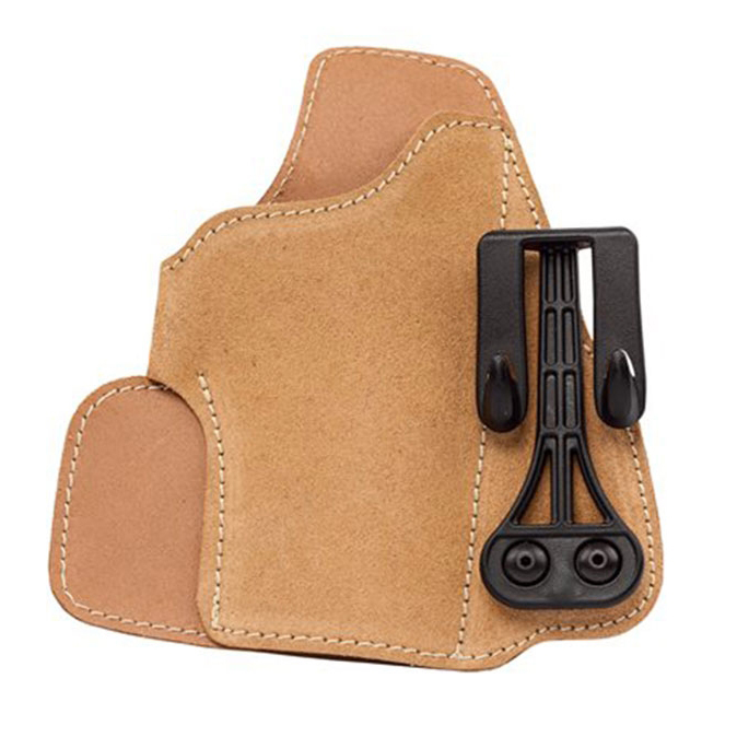 Blackhawk Leather Tuck Holster, RH, Tan, Glock 26/27/33/39