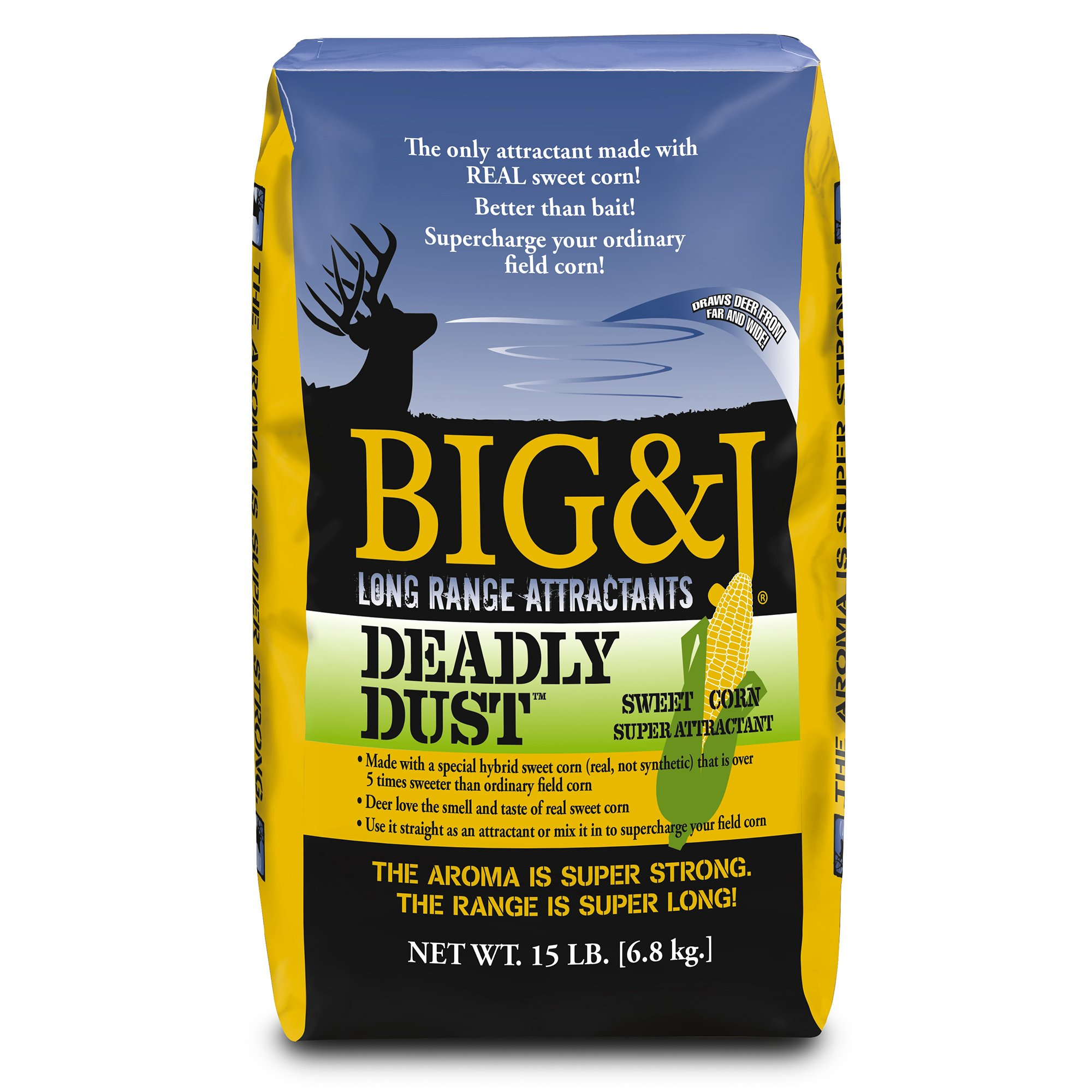 Big & J Deadly Dust Deer Attractant, 15 lbs.