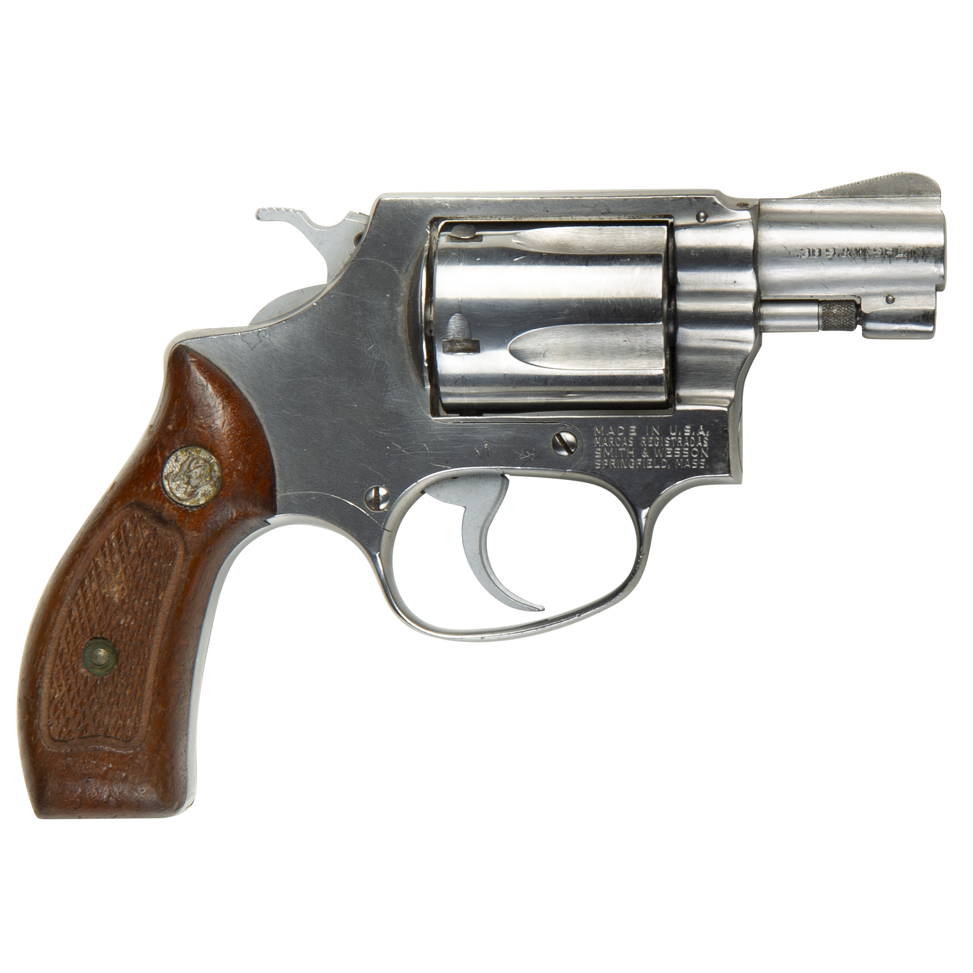 Used Smith & Wesson Model 60 Revolver, .38 Special +P thumbnail