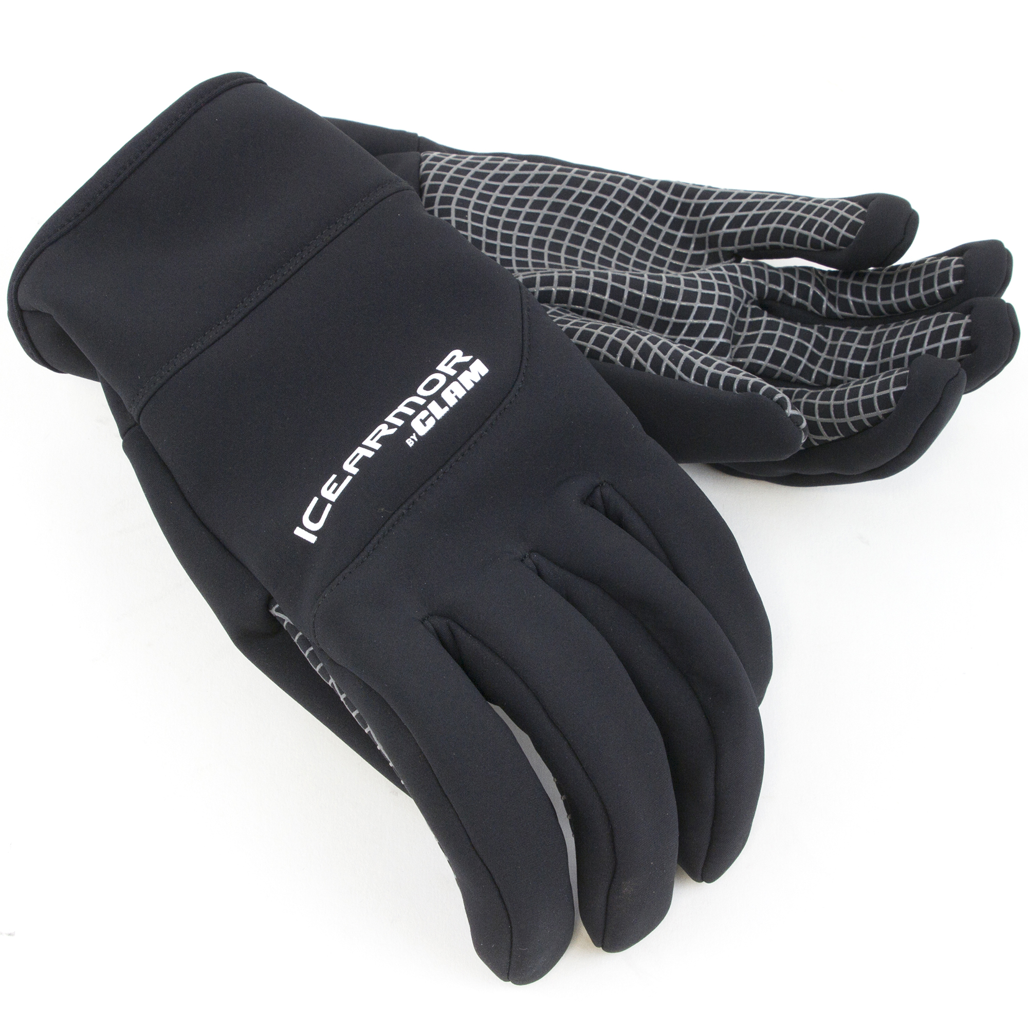 Clam Men's Ice Armor Link Softshell Glove